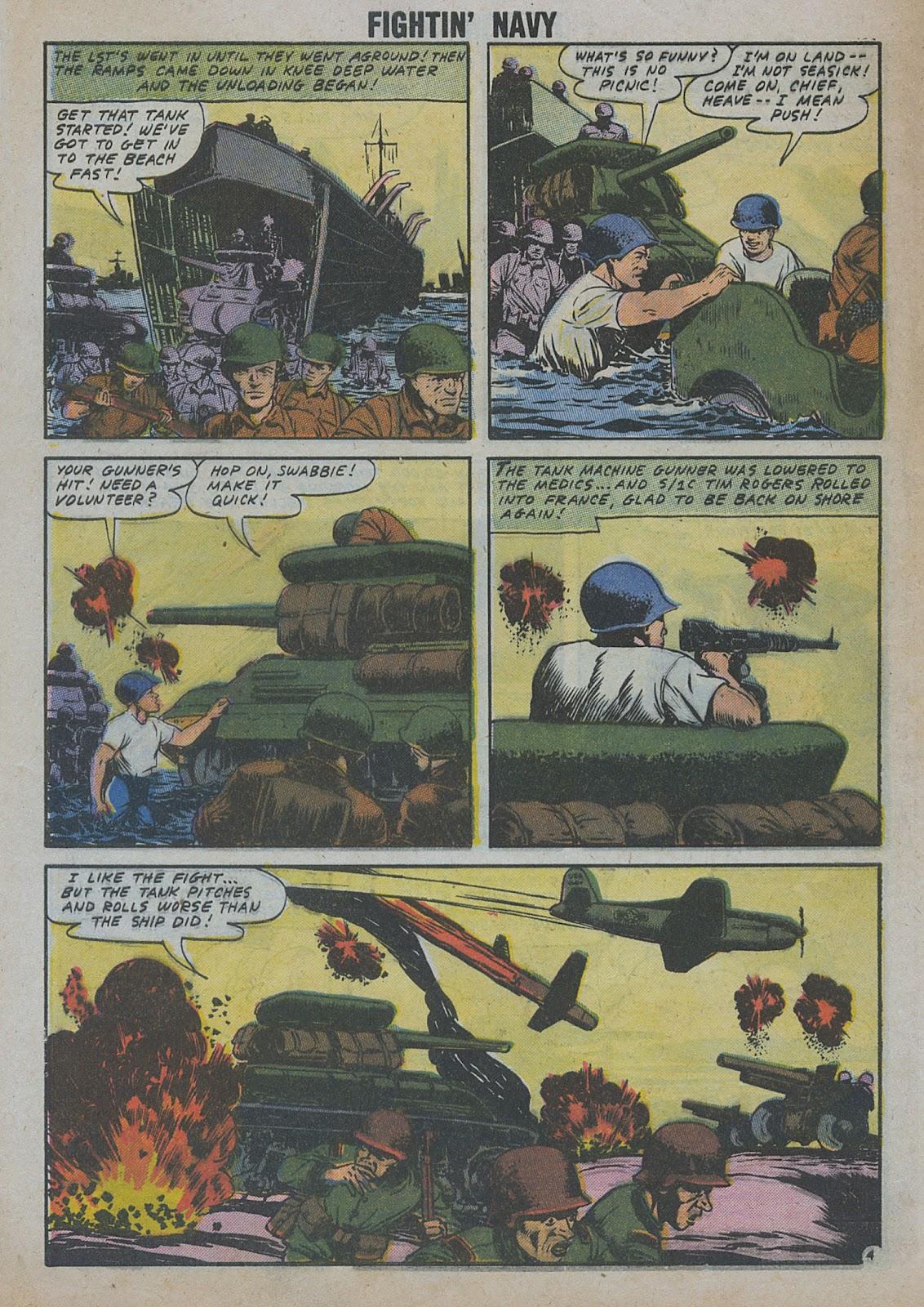 Read online Fightin' Navy comic -  Issue #82 - 14