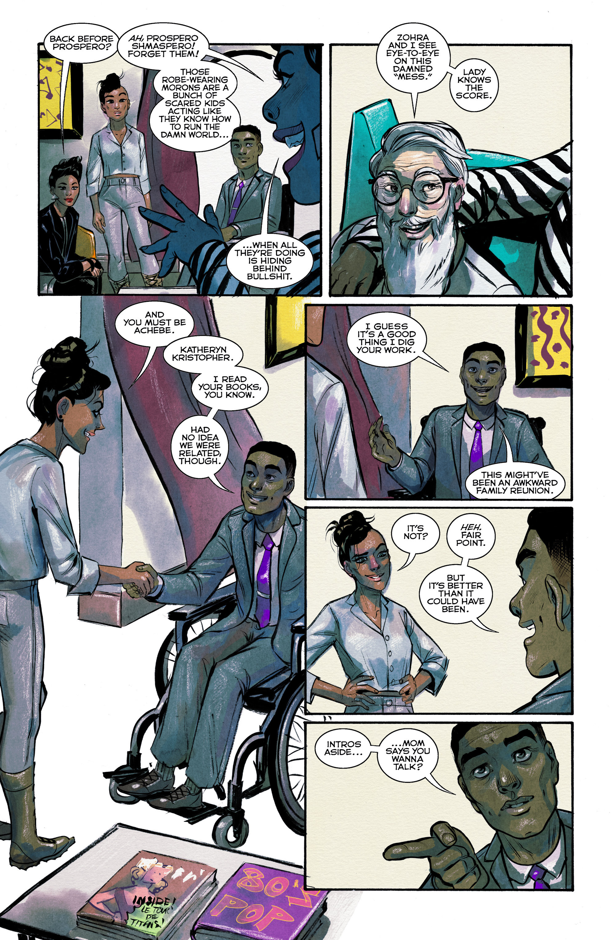Read online Shutter comic -  Issue #21 - 9