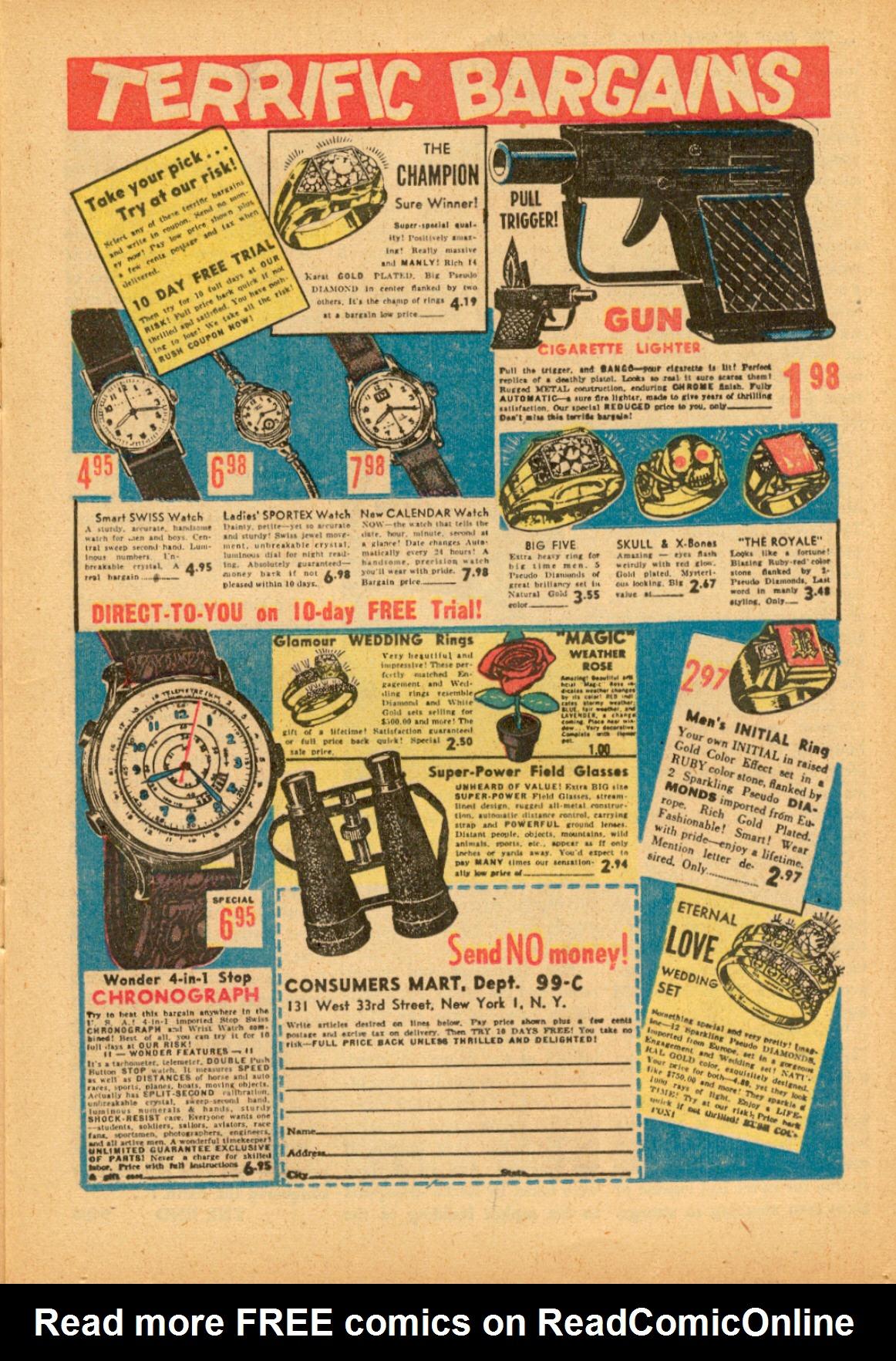 Read online Adventures into Weird Worlds comic -  Issue #3 - 15