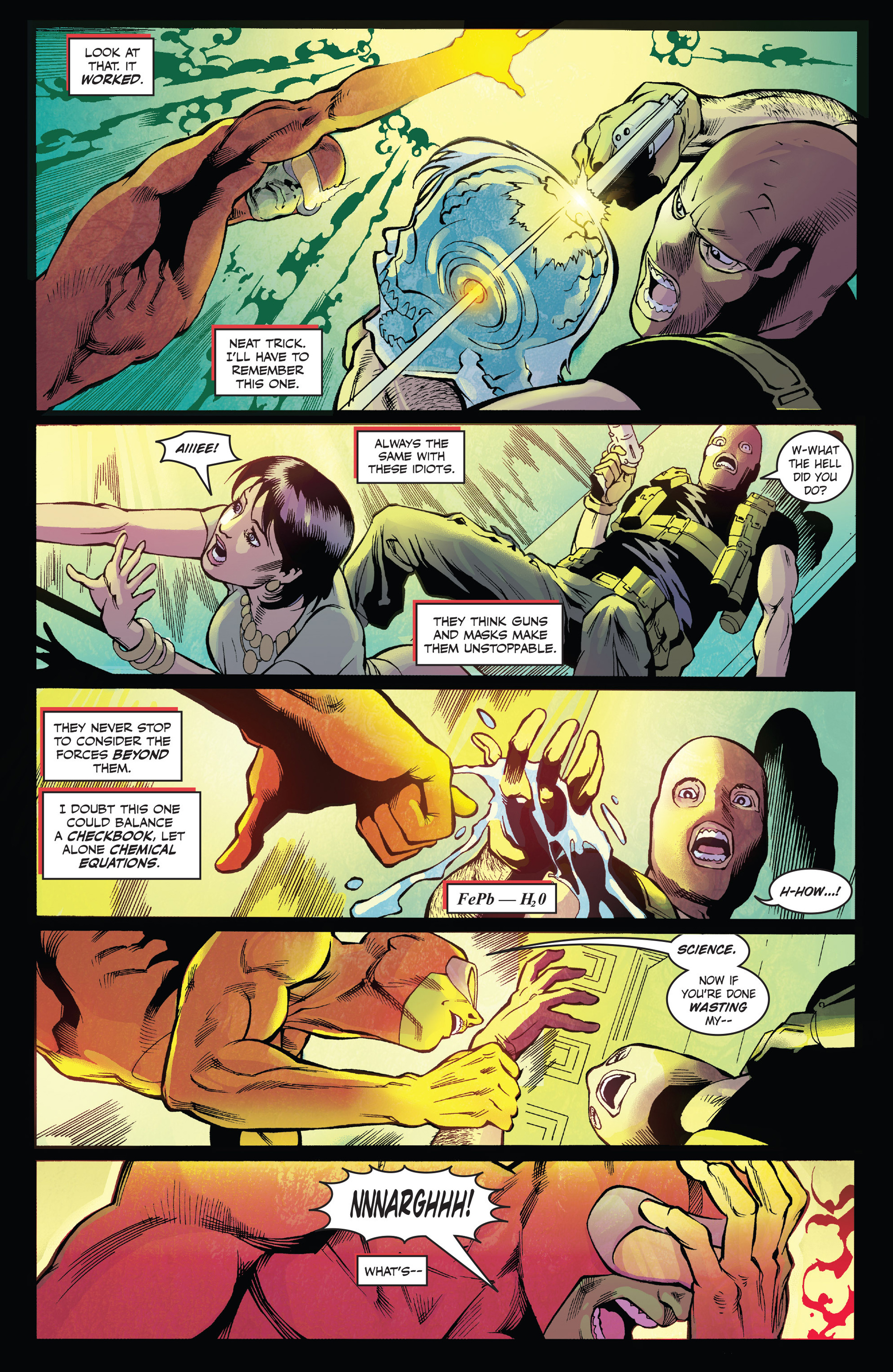 Read online Solar: Man of the Atom (2014) comic -  Issue #1 - 10