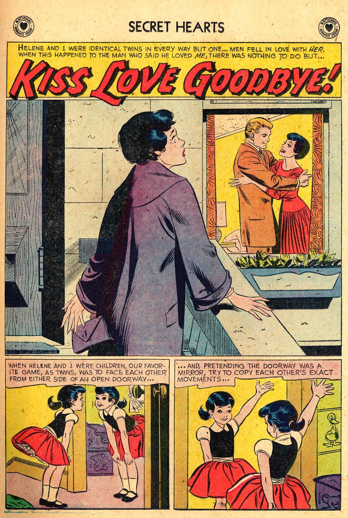 Read online Secret Hearts comic -  Issue #52 - 19