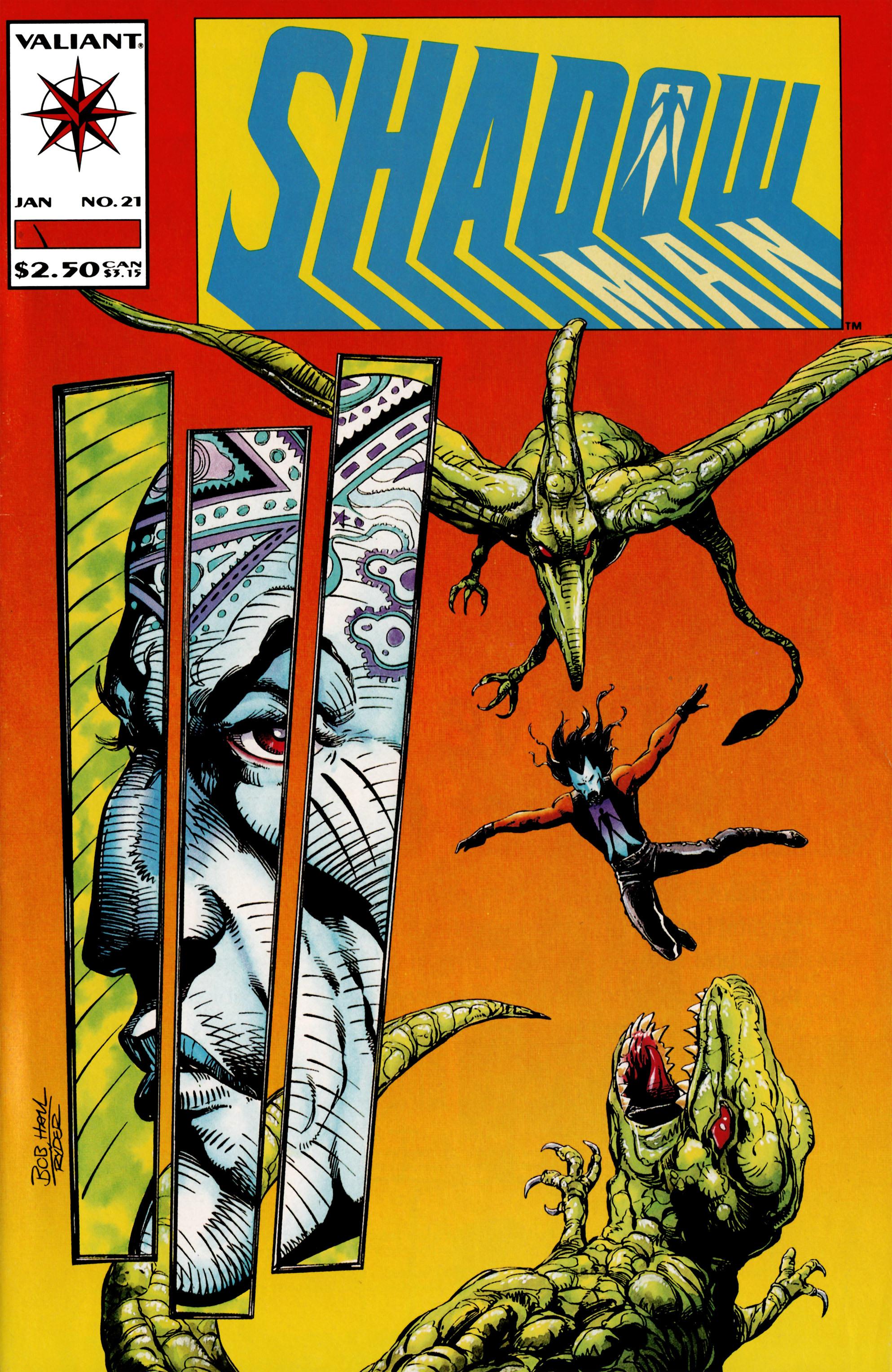 Read online Shadowman (1992) comic -  Issue #21 - 1
