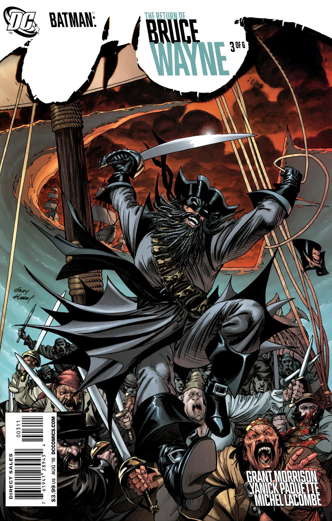 Batman: The Return of Bruce Wayne 3 Page 1