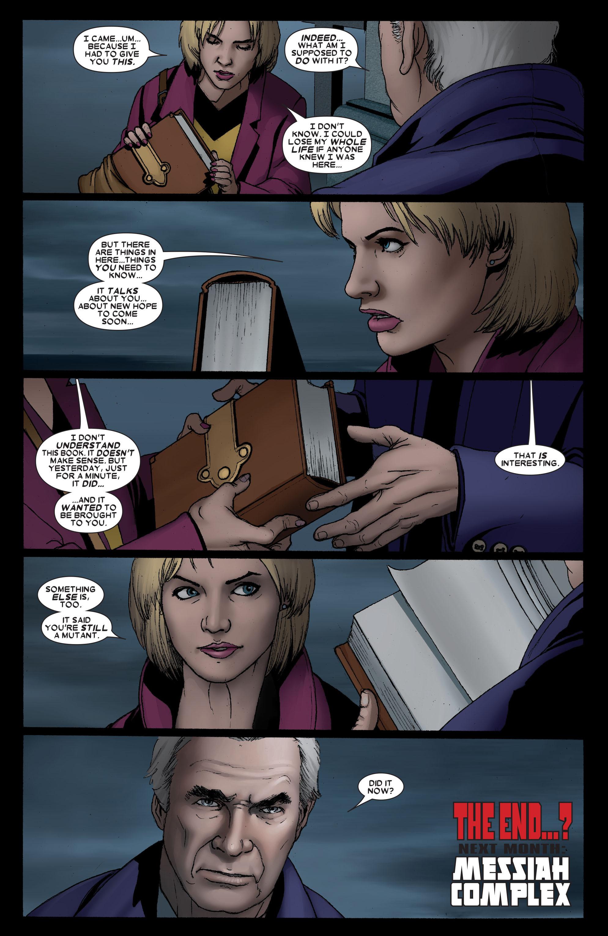 Read online Uncanny X-Men (1963) comic -  Issue #491 - 23