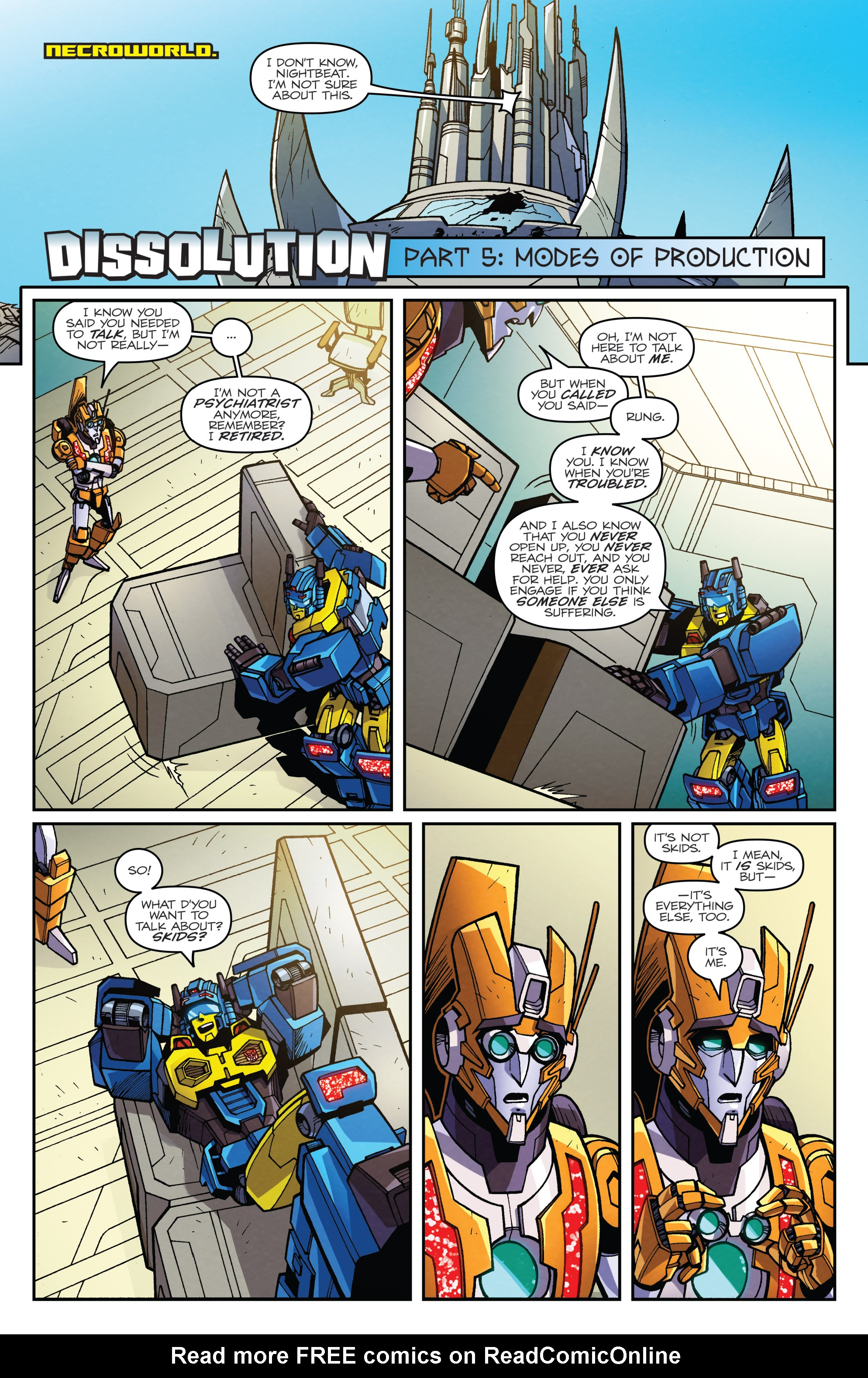 Read online Transformers: Lost Light comic -  Issue #5 - 3