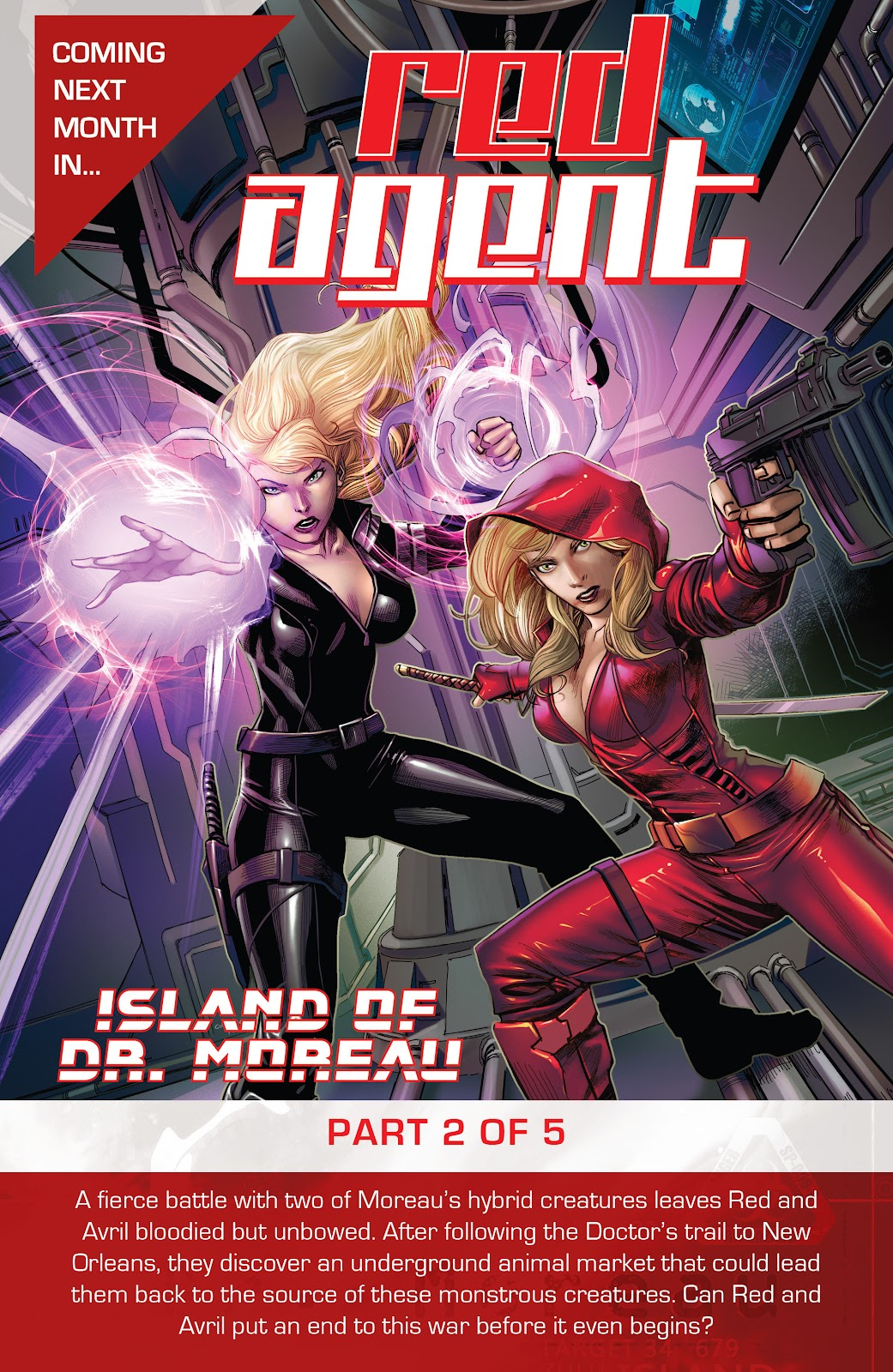Read online Red Agent: Island of Dr Moreau comic -  Issue #1 - 25