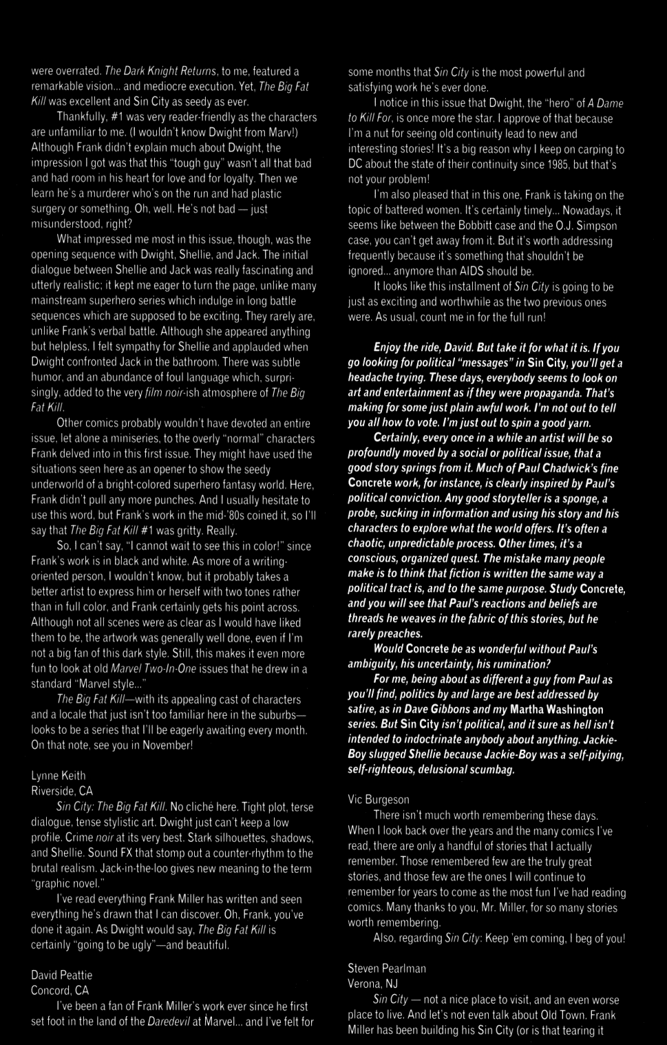 Read online Sin City: The Big Fat Kill comic -  Issue #2 - 30