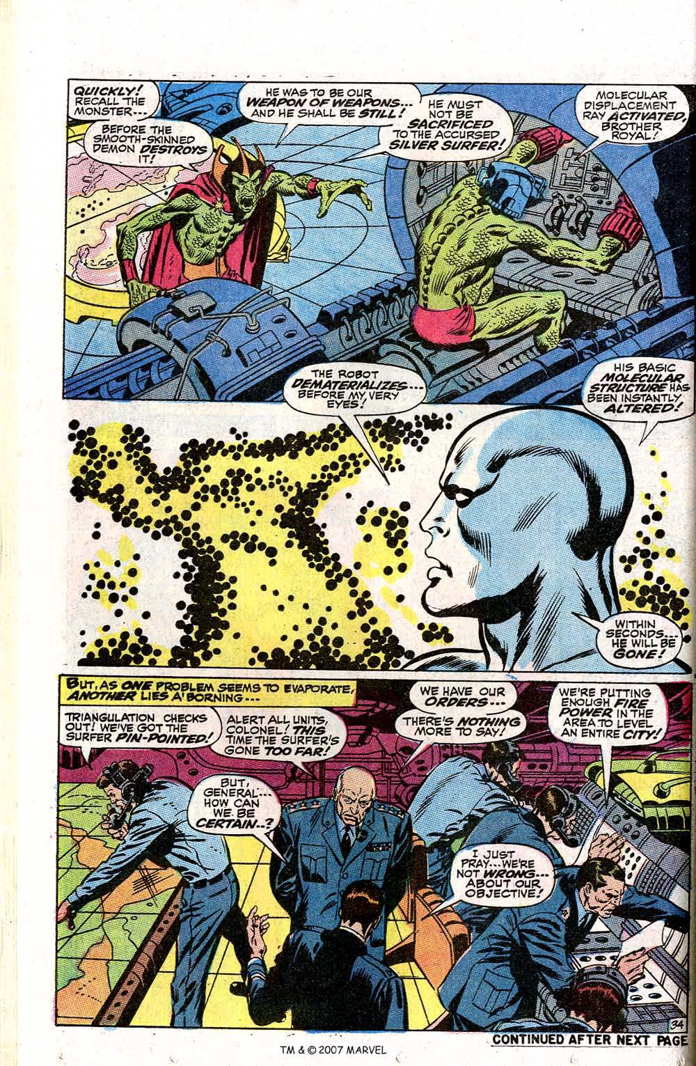 Read online Silver Surfer (1968) comic -  Issue #2 - 44