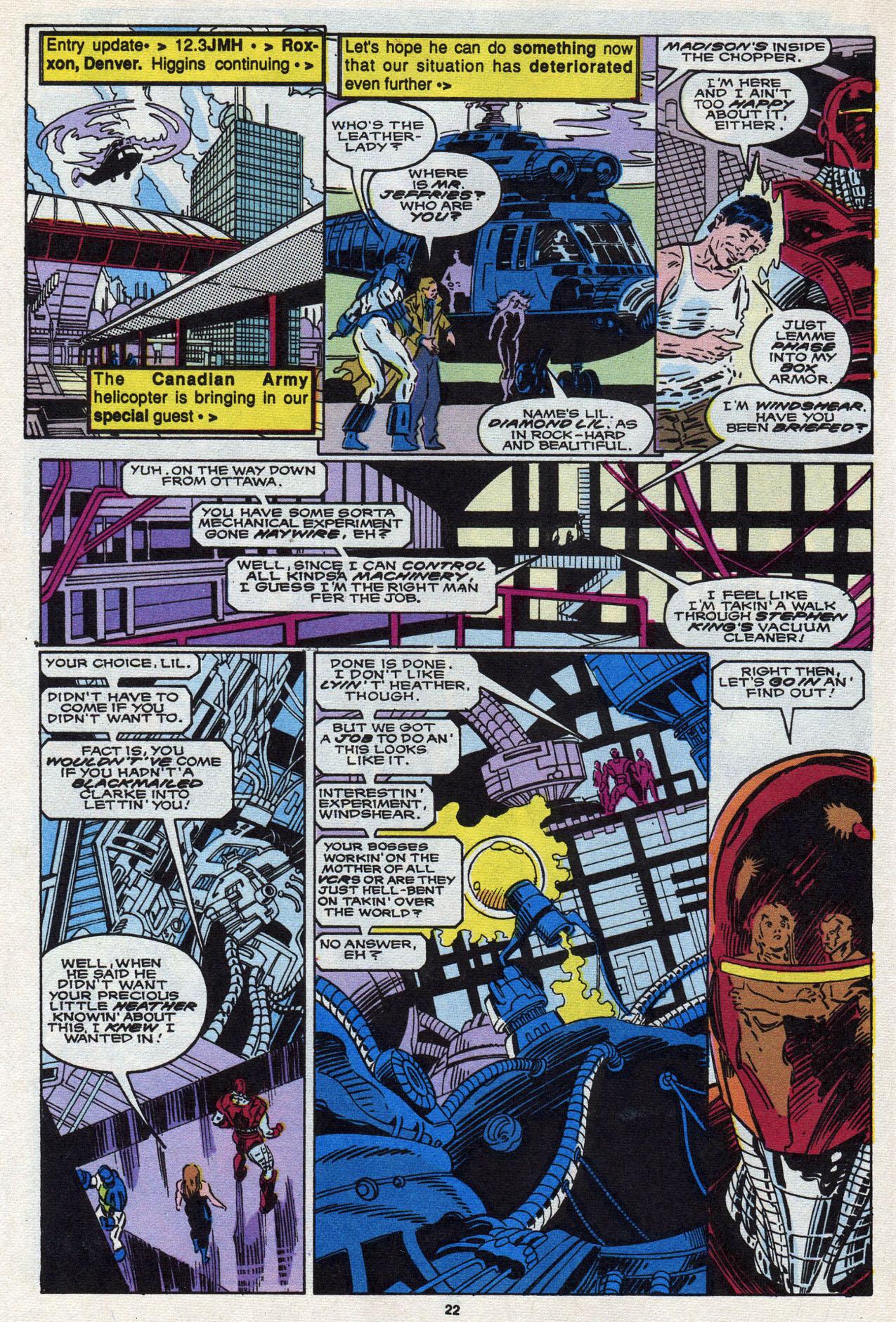 Read online Alpha Flight (1983) comic -  Issue #87 - 23
