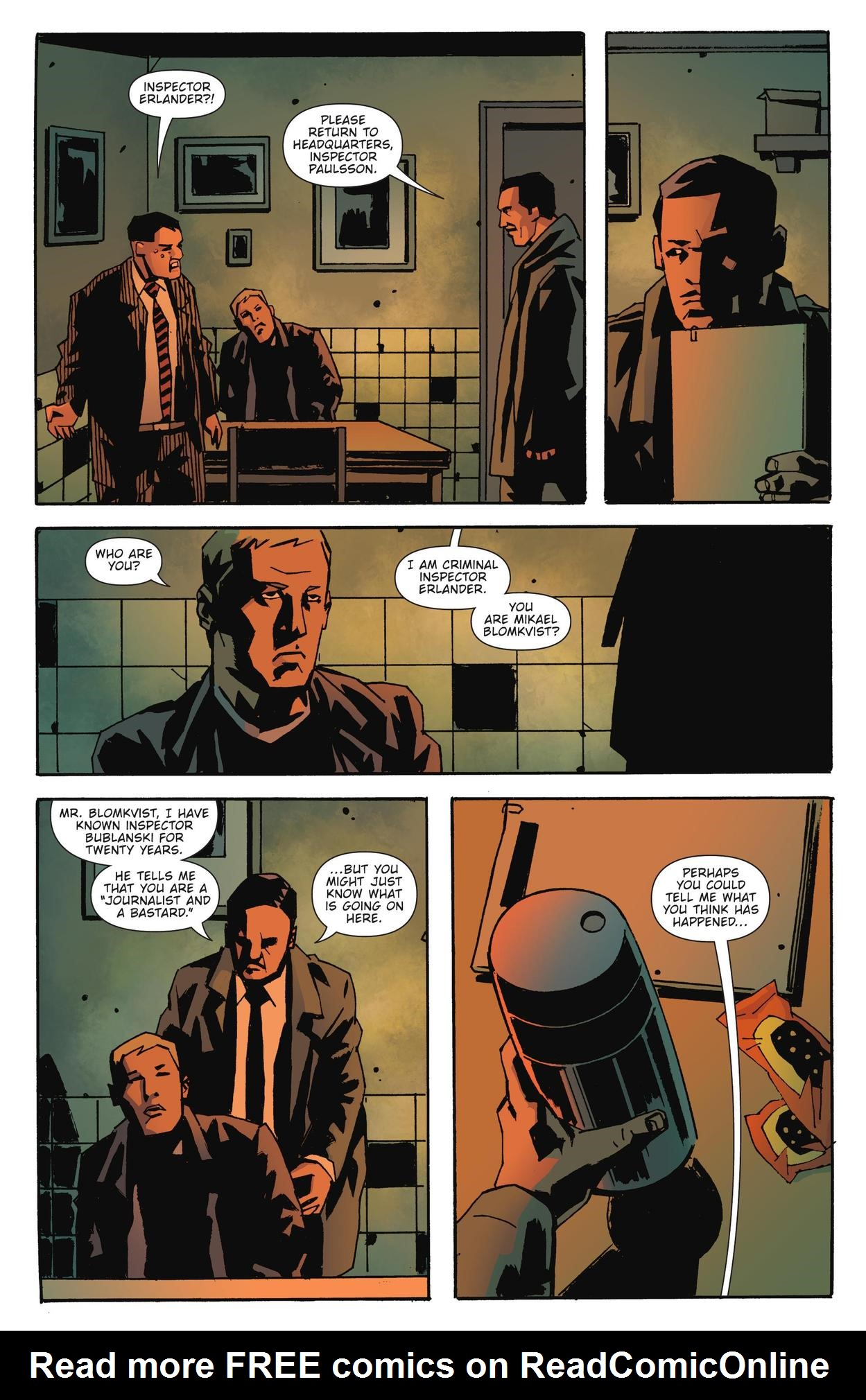 Read online The Girl Who Kicked The Hornet's Nest comic -  Issue # TPB - 16