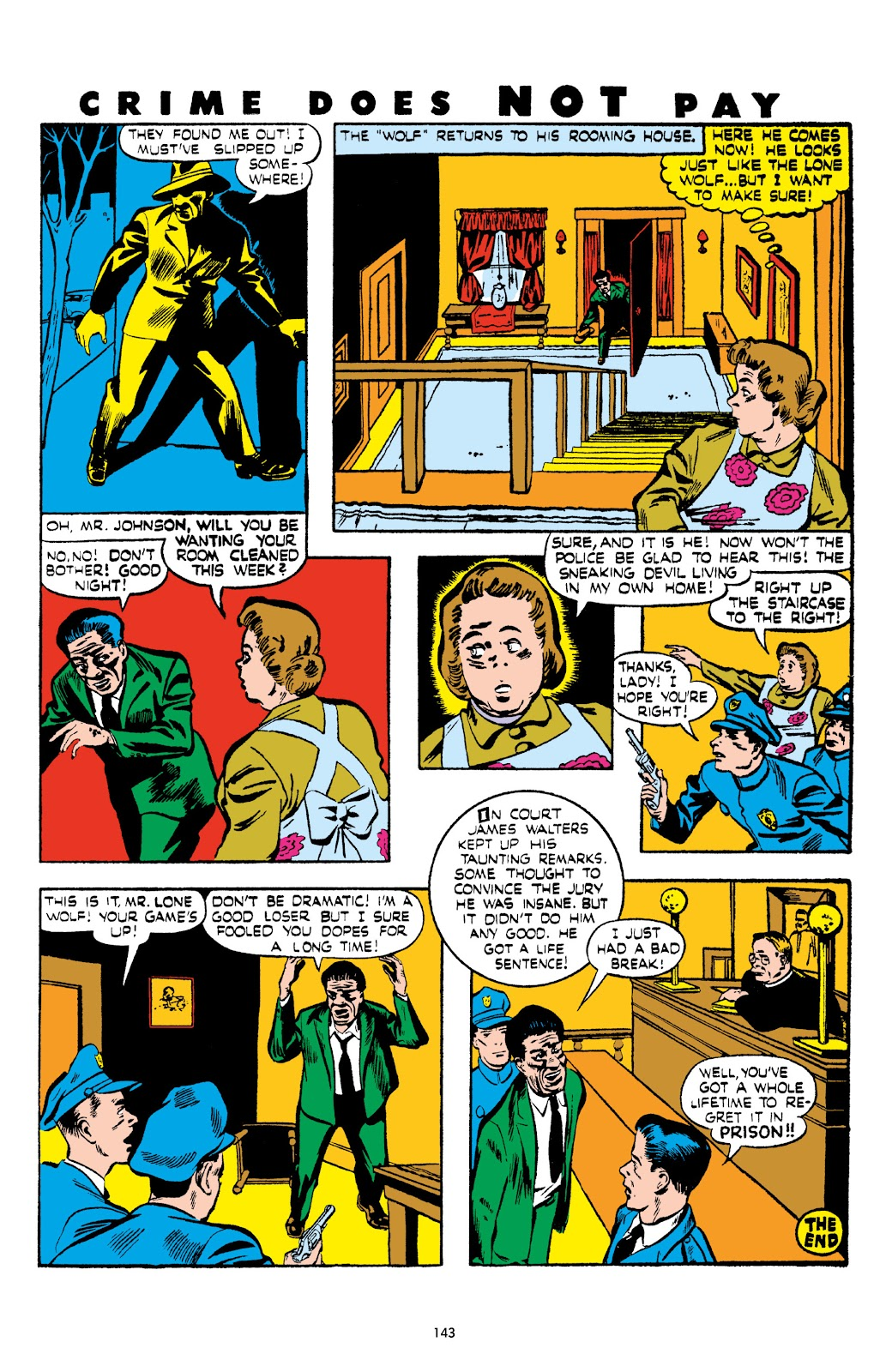 Read online Crime Does Not Pay Archives comic -  Issue # TPB 5 (Part 2) - 43