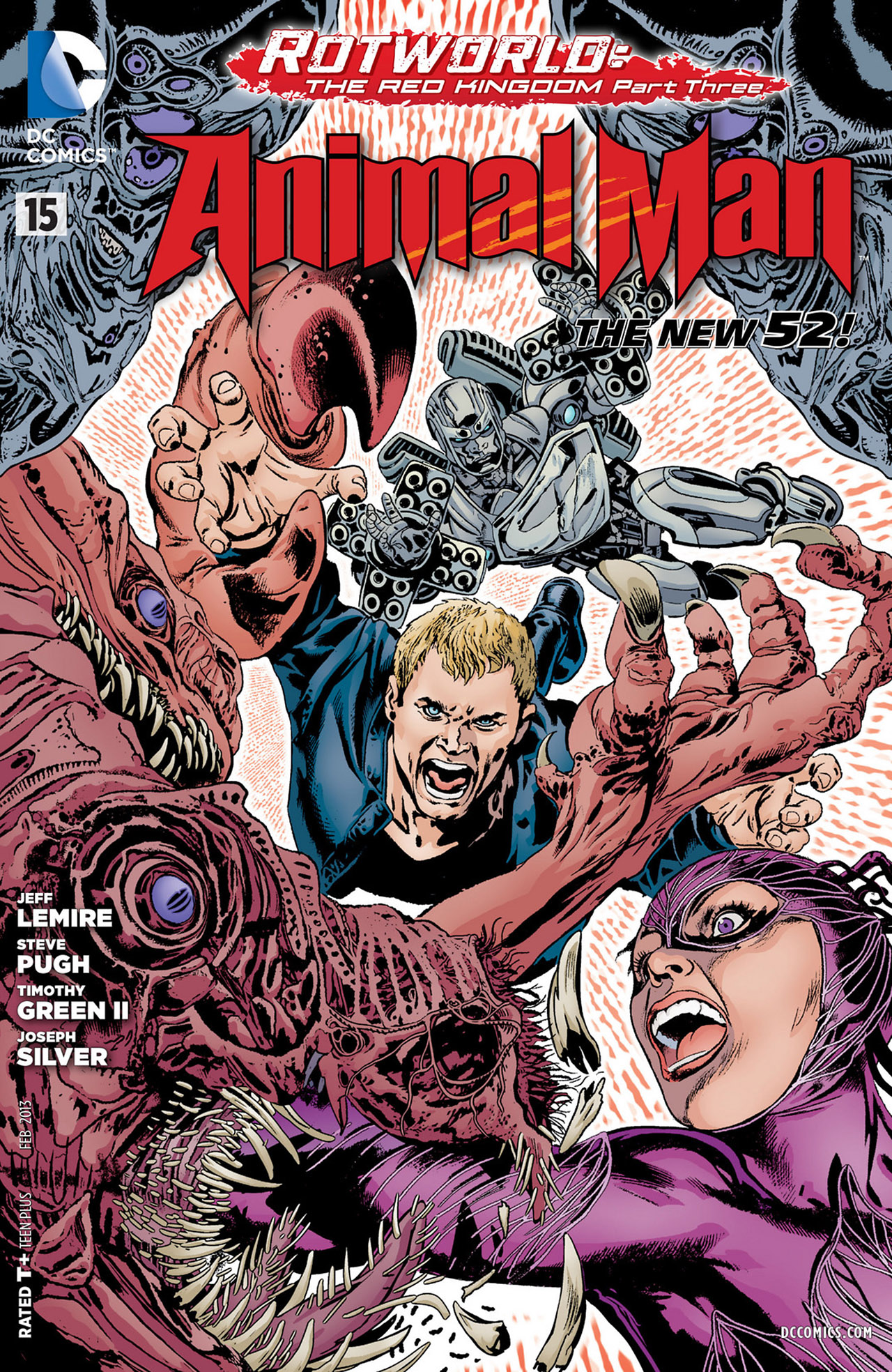 Read online Animal Man (2011) comic -  Issue #15 - 1