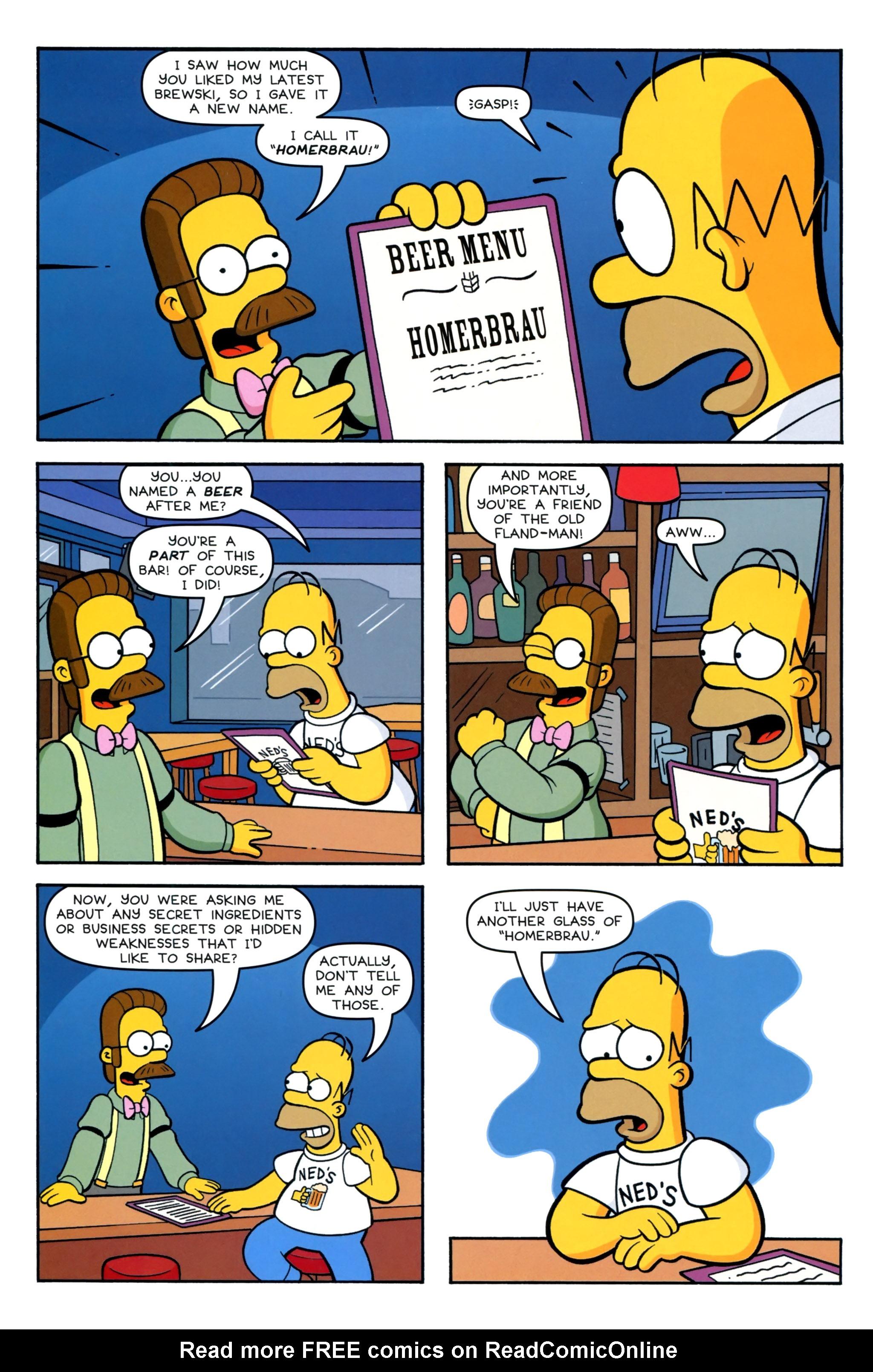 Read online Simpsons Comics comic -  Issue #220 - 20