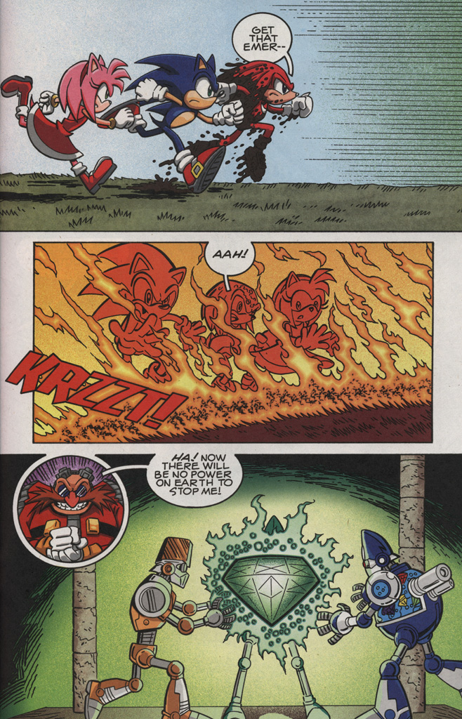 Read online Sonic X comic -  Issue #28 - 31