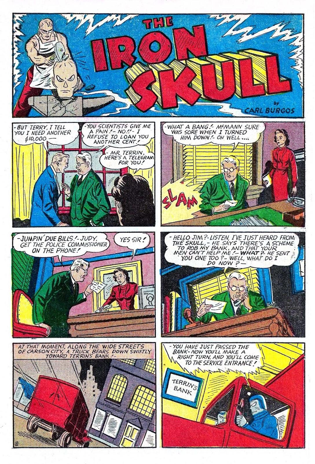 Amazing Man Comics issue 5 - Page 21