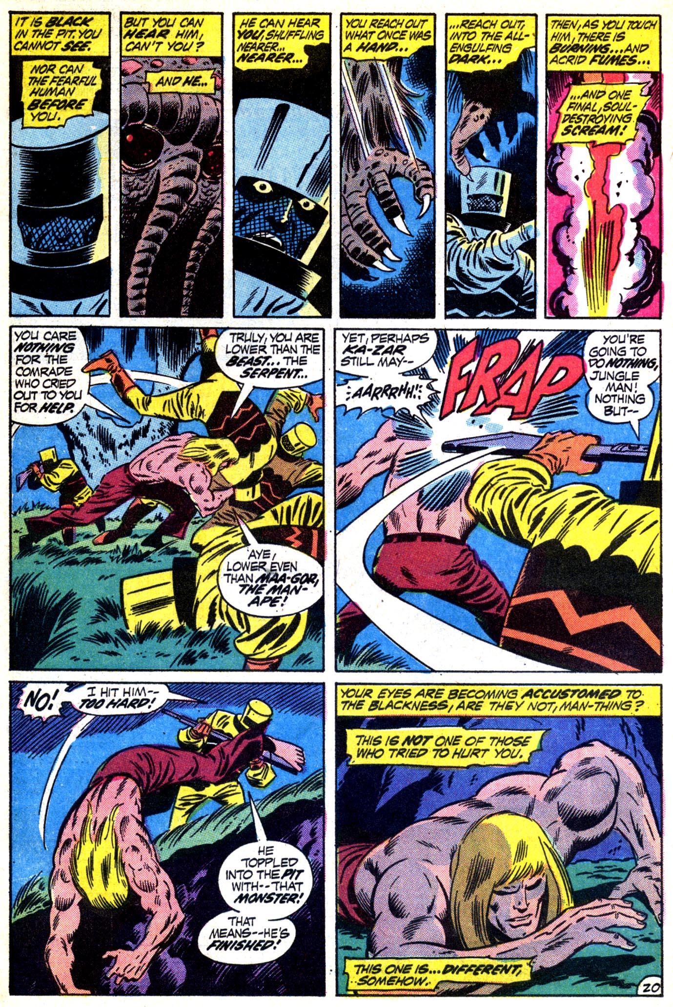 Read online Astonishing Tales (1970) comic -  Issue #12 - 21