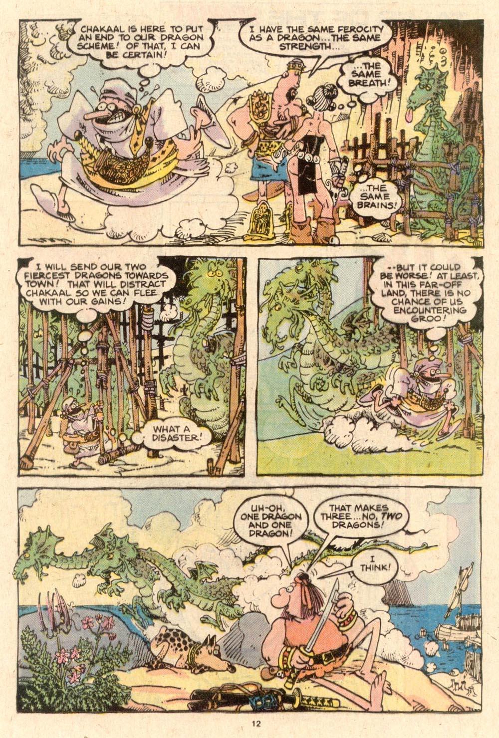 Read online Sergio Aragonés Groo the Wanderer comic -  Issue #53 - 12