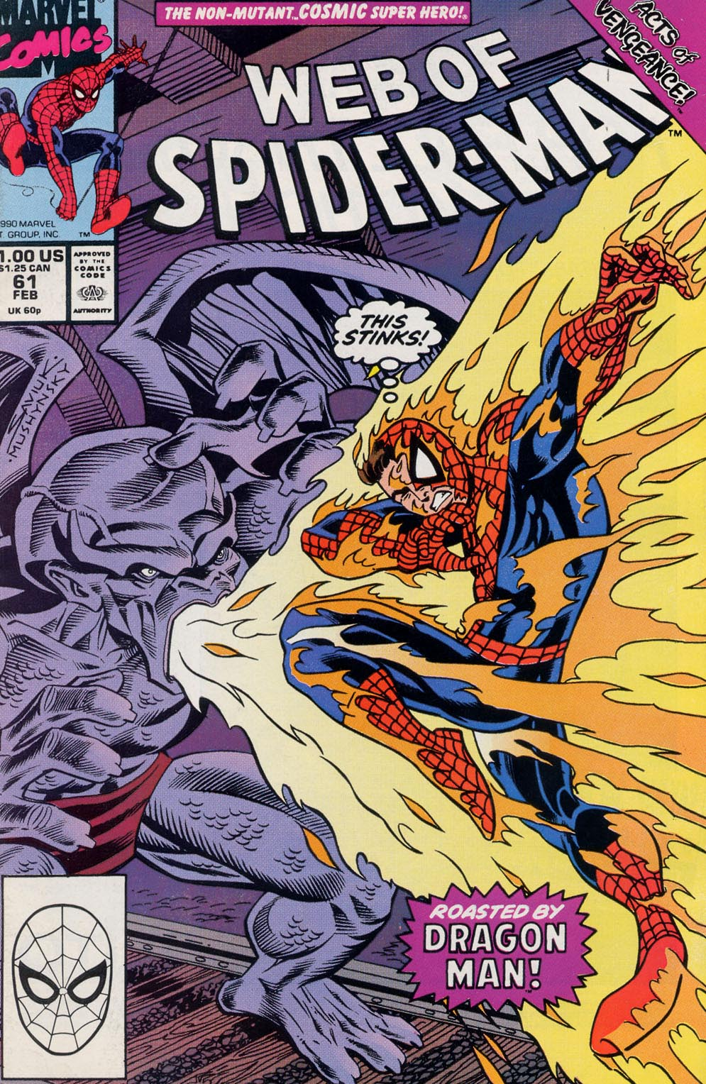Web of Spider-Man (1985) 61 Page 1