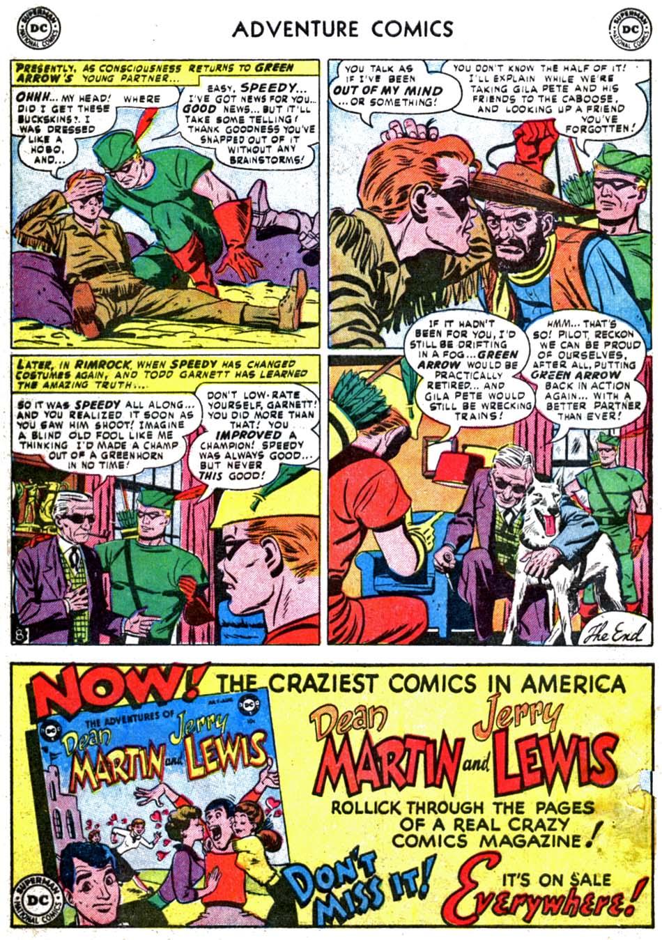 Read online Adventure Comics (1938) comic -  Issue #179 - 42