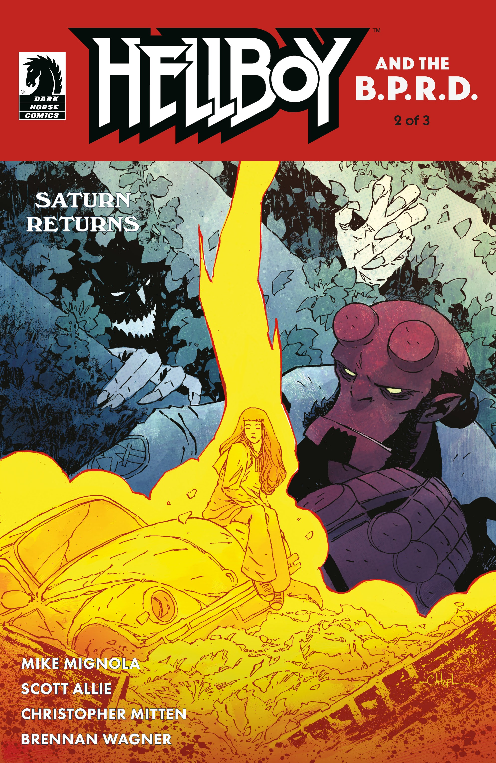 Hellboy and the B.P.R.D.: Saturn Returns 2 Page 1