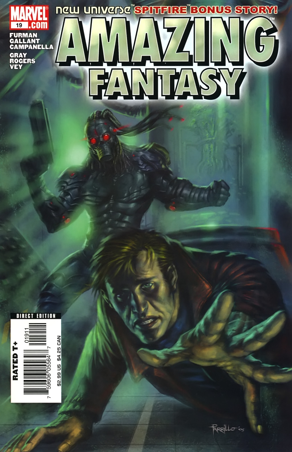 Read online Amazing Fantasy (2004) comic -  Issue #19 - 1