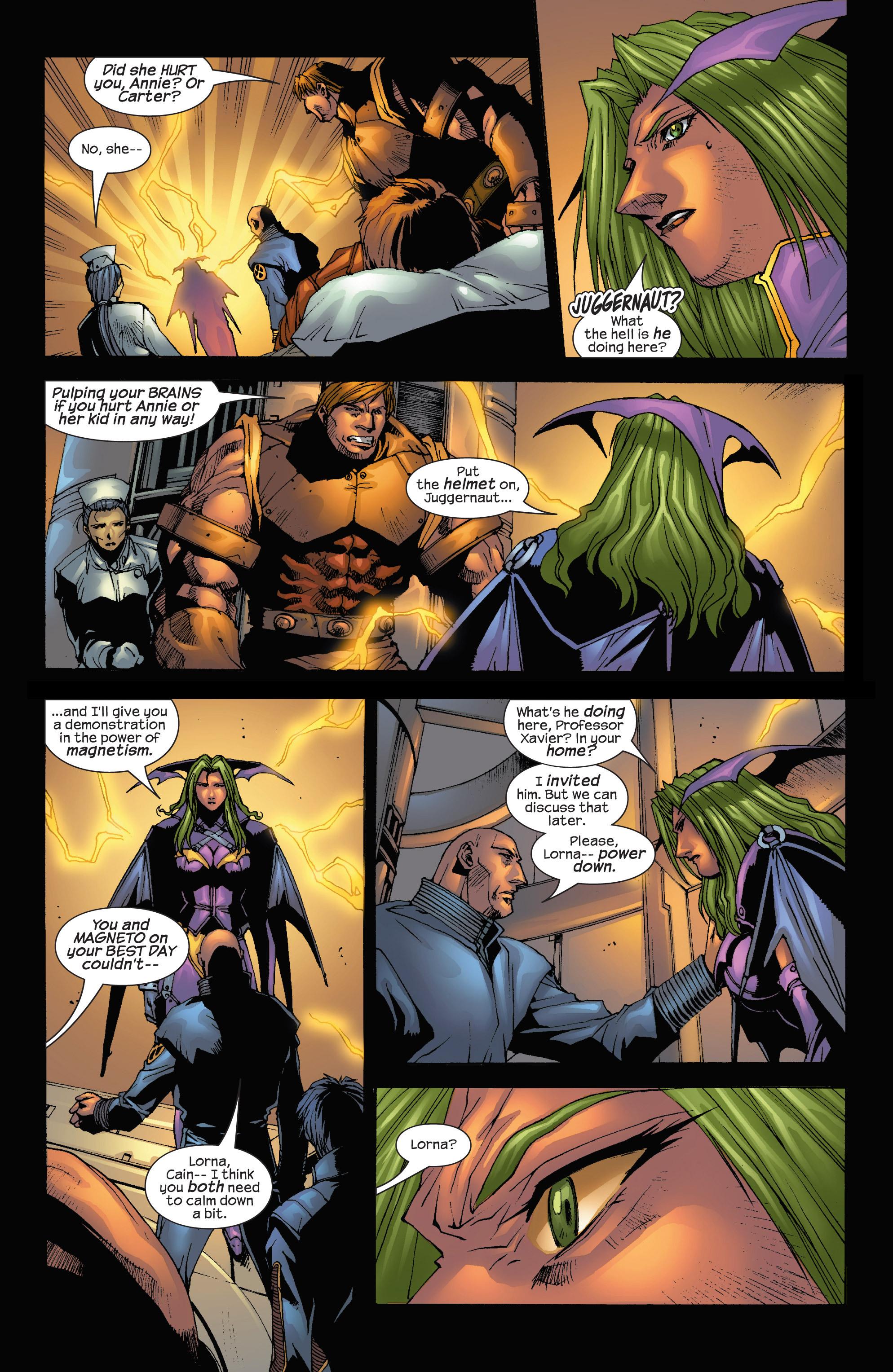 Read online Uncanny X-Men (1963) comic -  Issue #419 - 7