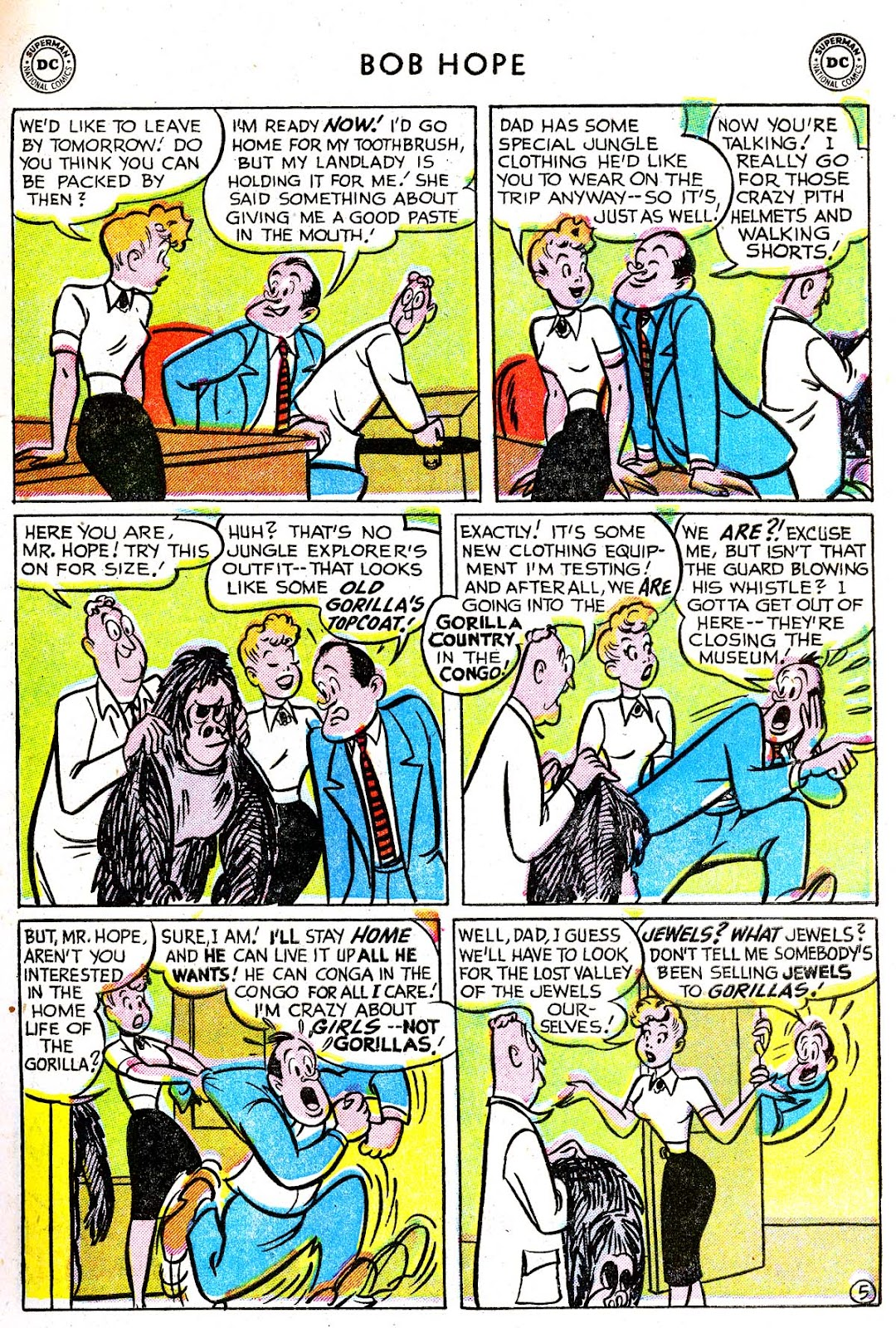 The Adventures of Bob Hope issue 33 - Page 7