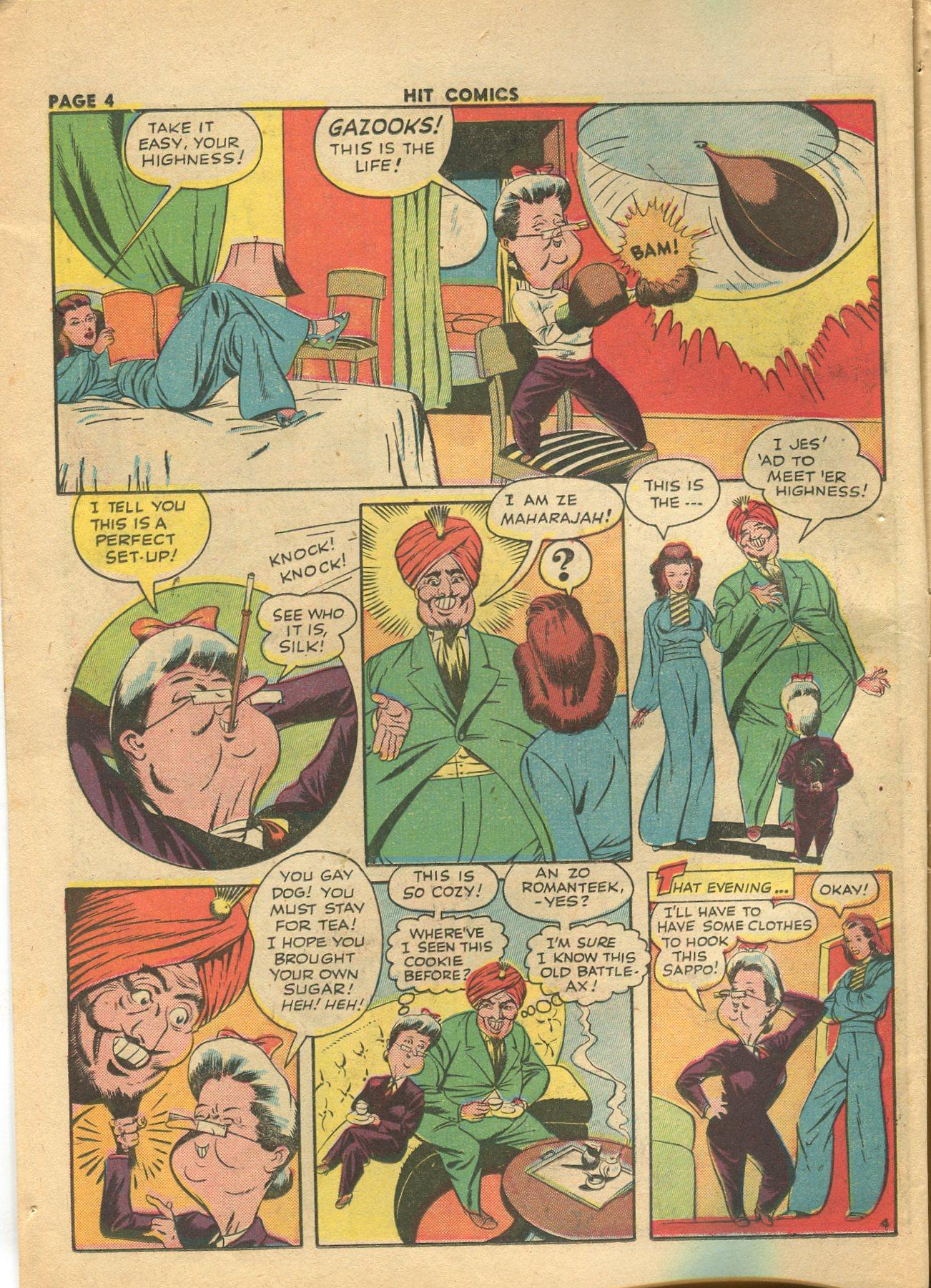 Read online Hit Comics comic -  Issue #28 - 7