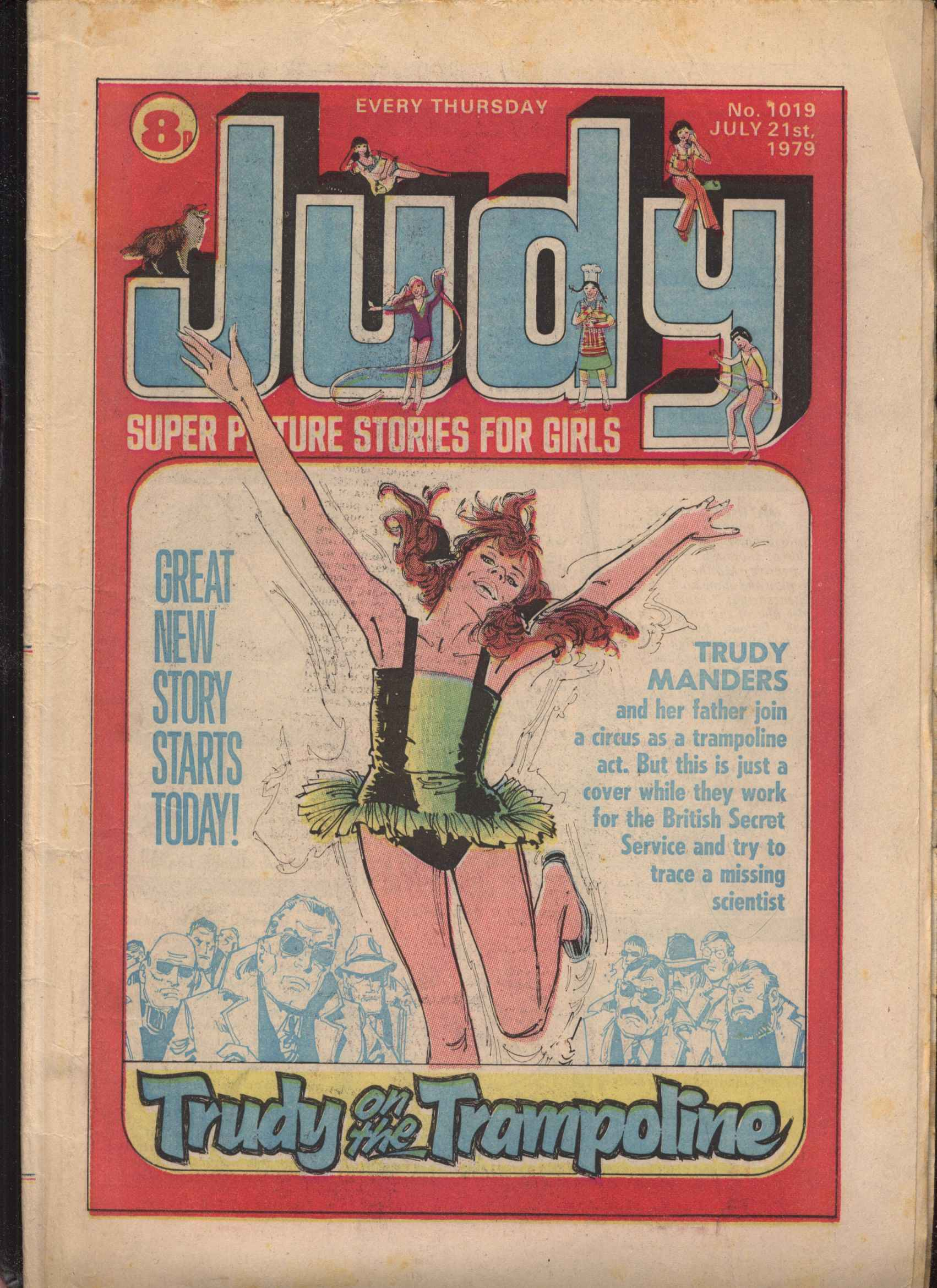 Read online Judy comic -  Issue #19 - 1