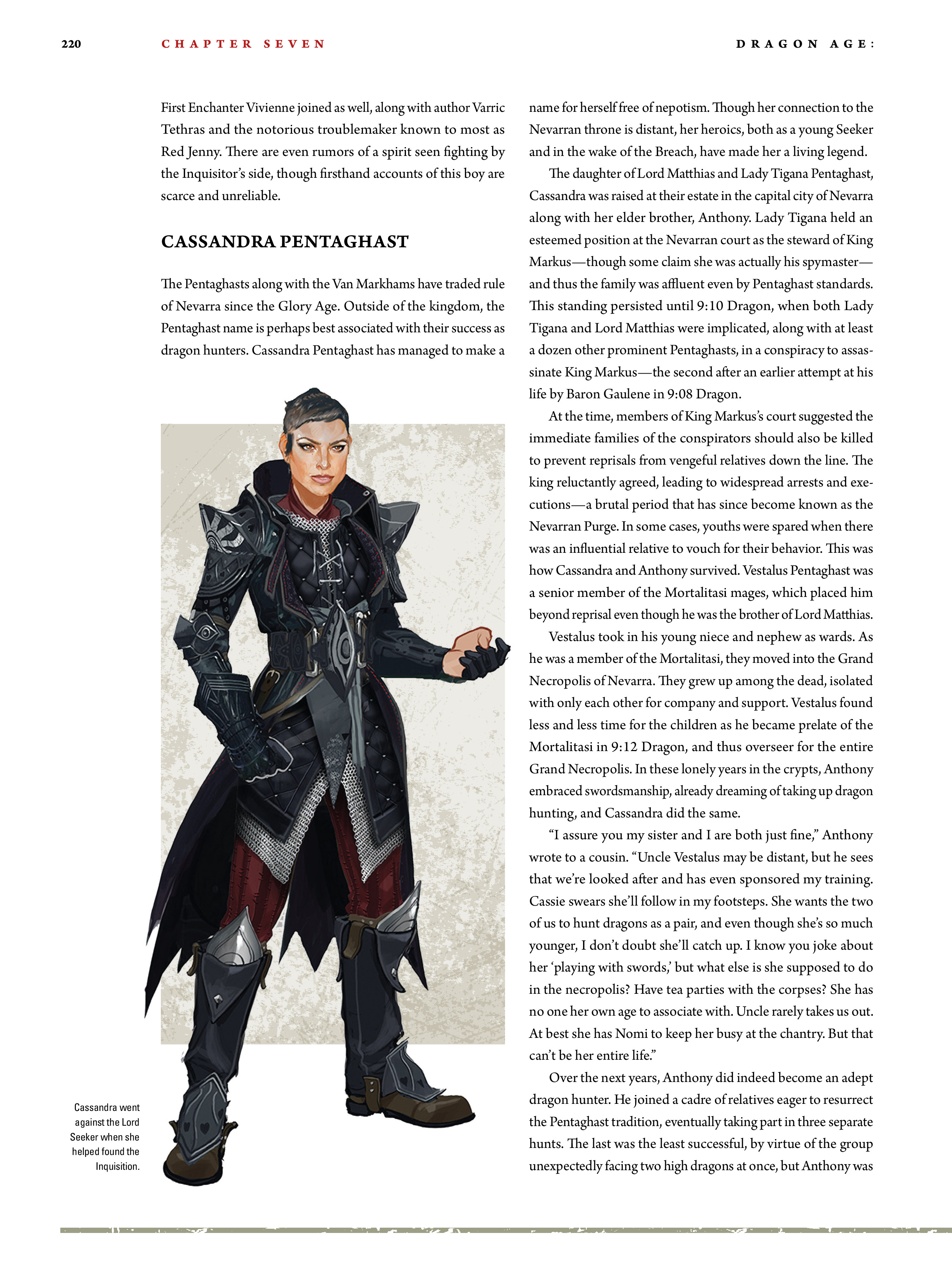 Read online Dragon Age: The World of Thedas comic -  Issue # TPB 2 - 215