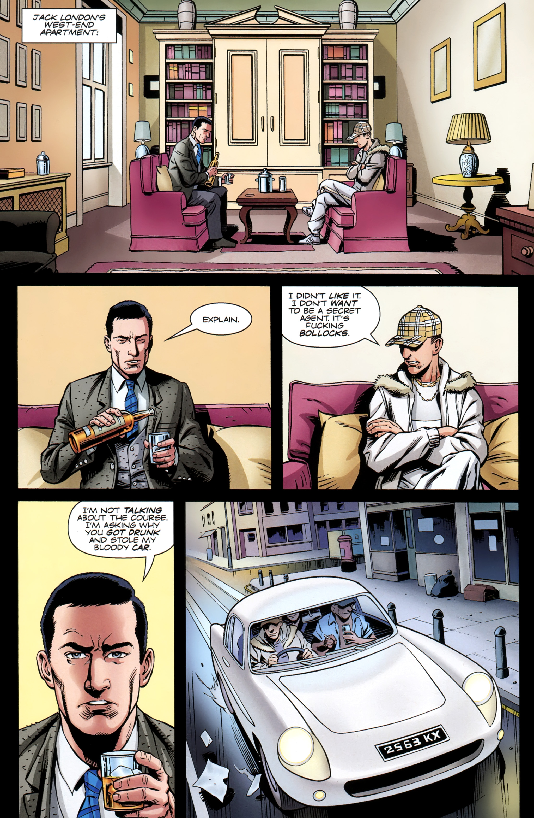 Read online Secret Service comic -  Issue #4 - 3