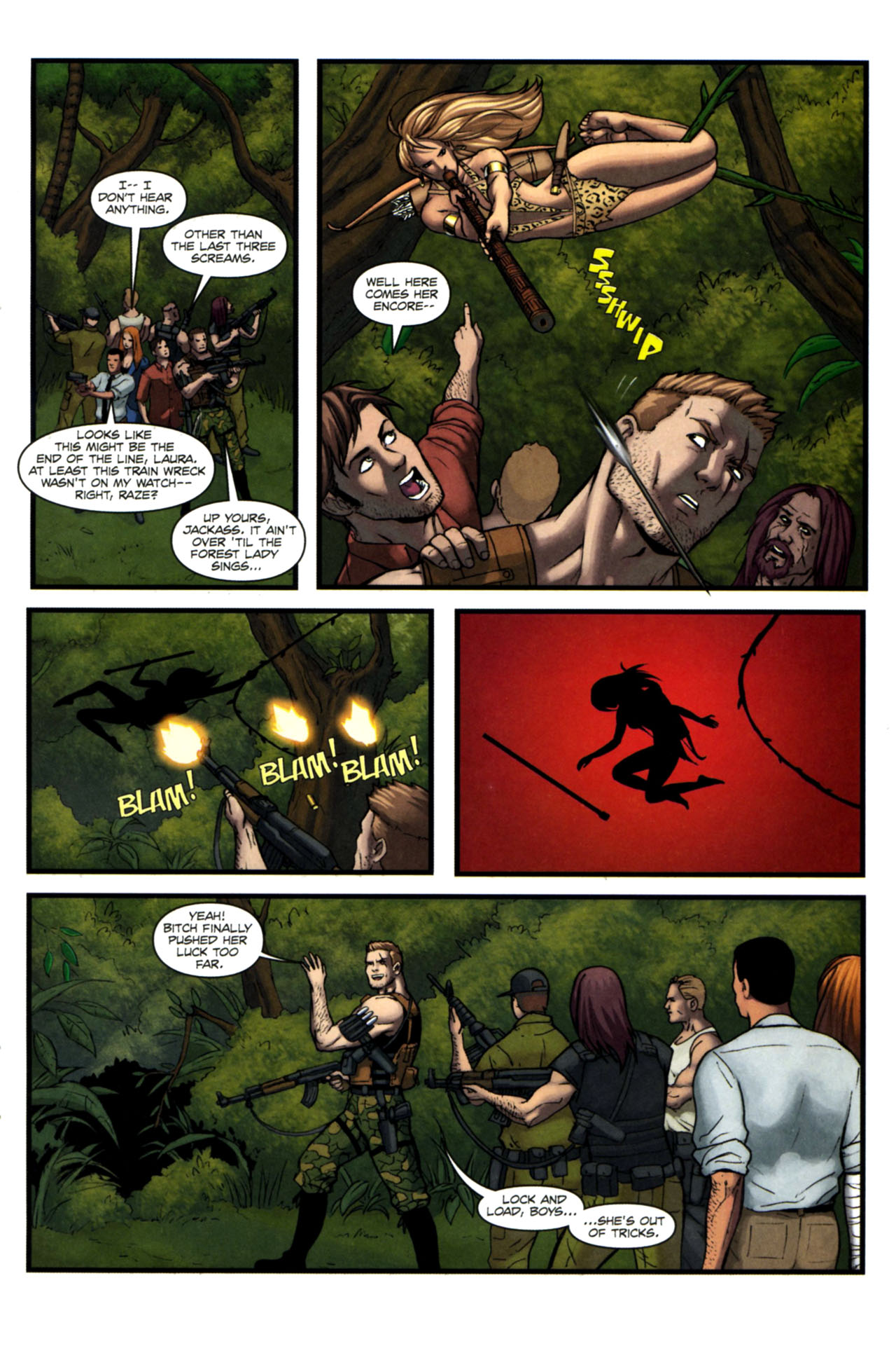 Read online Sheena, Queen of the Jungle comic -  Issue #4 - 22