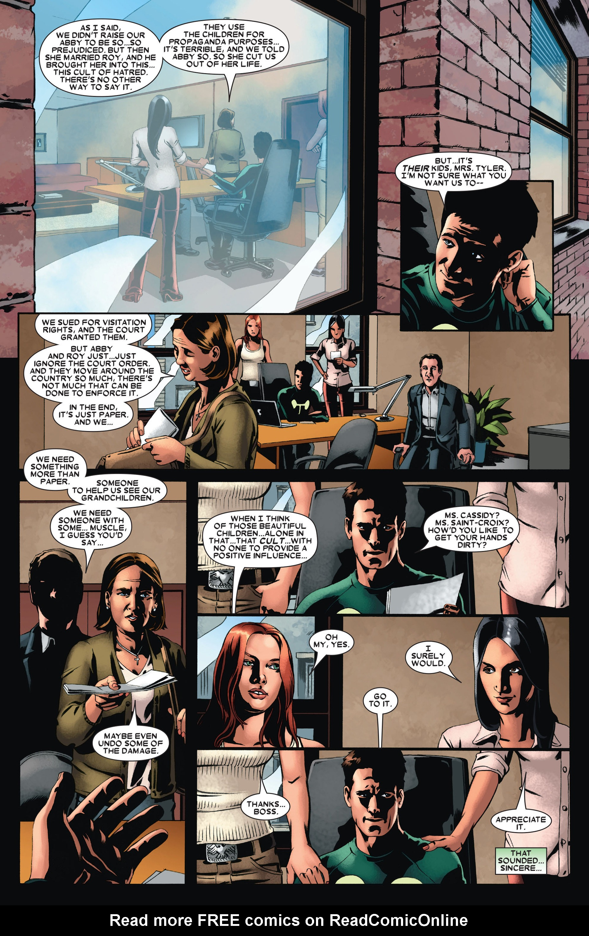 Read online X-Factor (2006) comic -  Issue #21 - 21