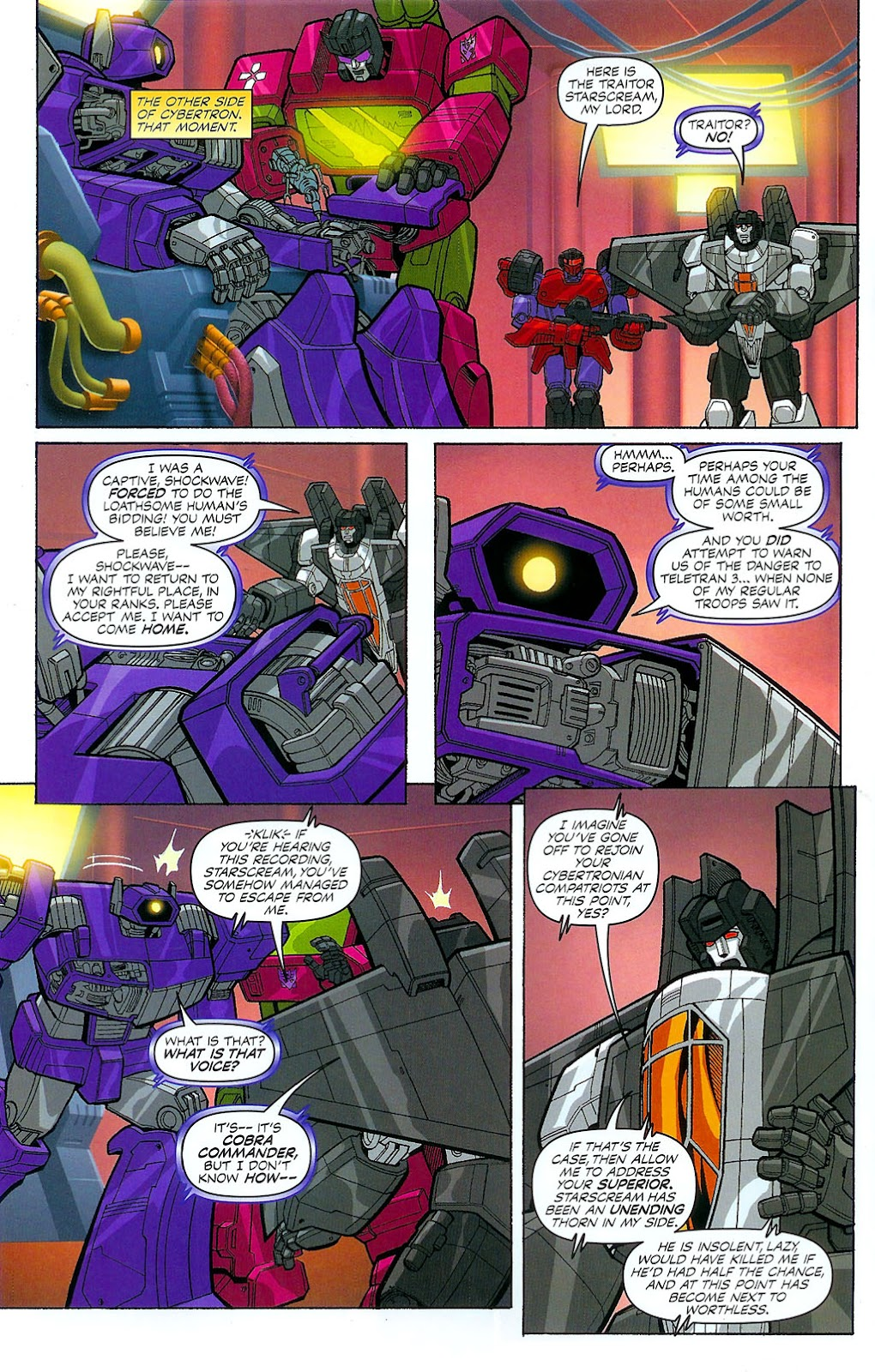 G.I. Joe vs. The Transformers II Issue #4 #5 - English 20