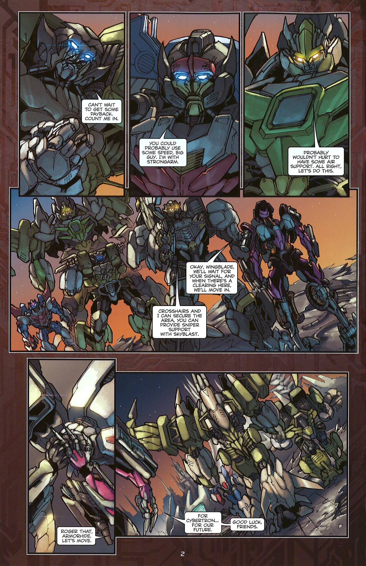 Read online Transformers: The Reign of Starscream comic -  Issue #5 - 5