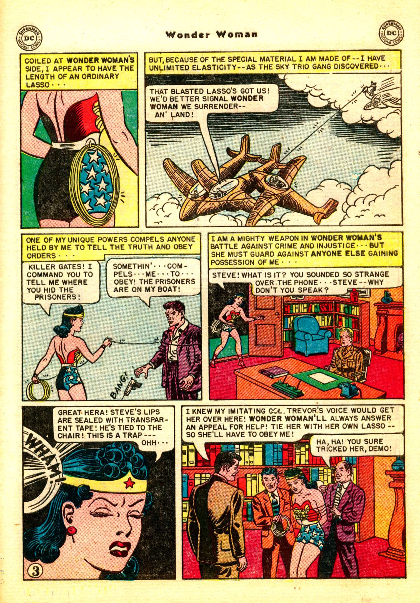 Read online Wonder Woman (1942) comic -  Issue #50 - 33