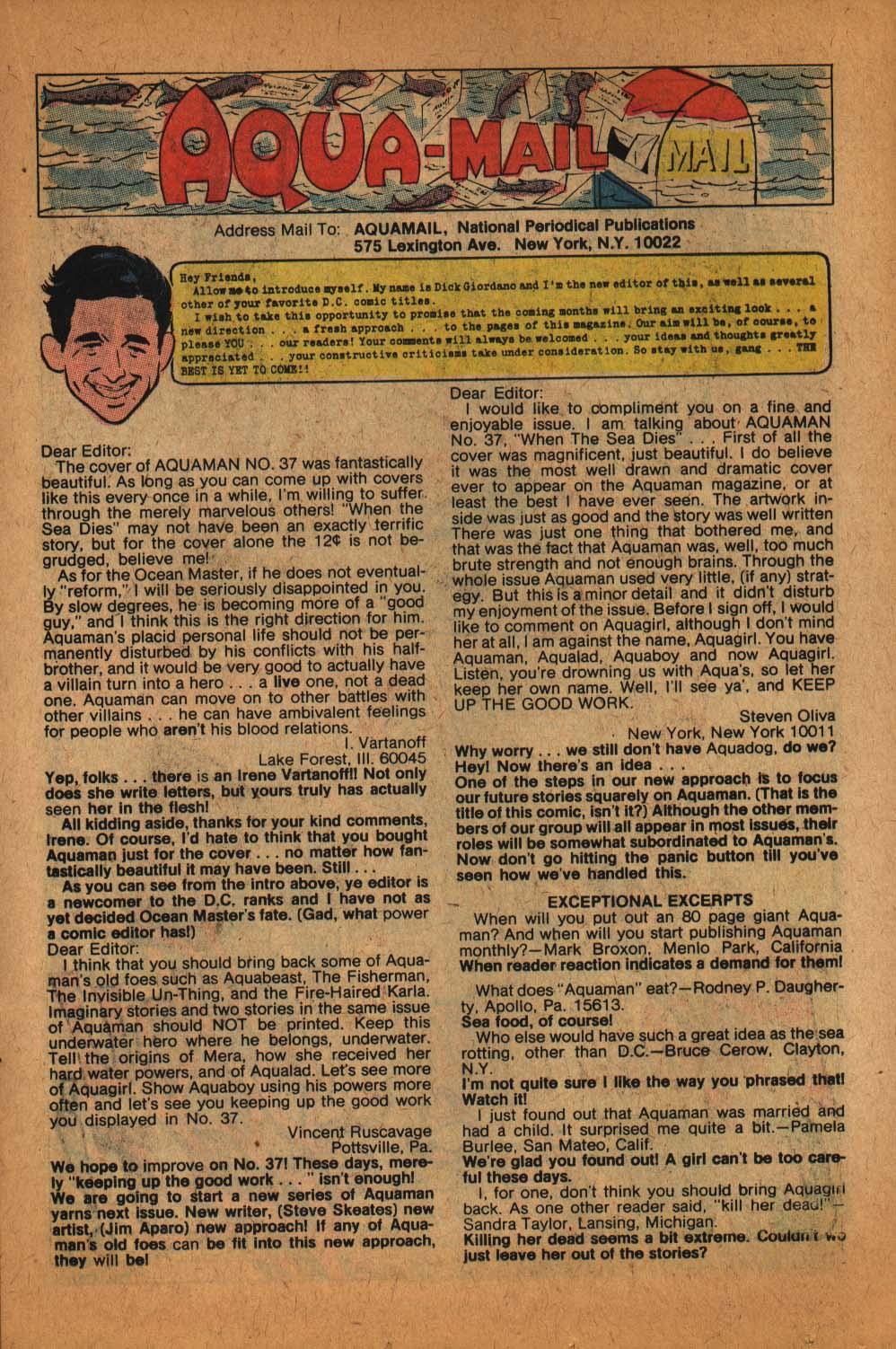 Read online Aquaman (1962) comic -  Issue #39 - 15