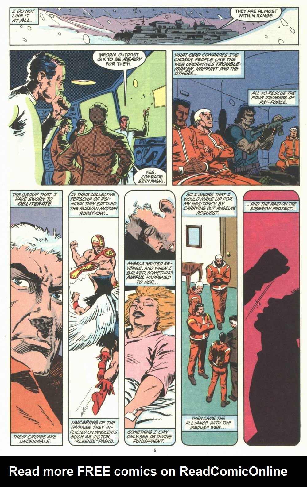Read online Justice (1986) comic -  Issue #29 - 6
