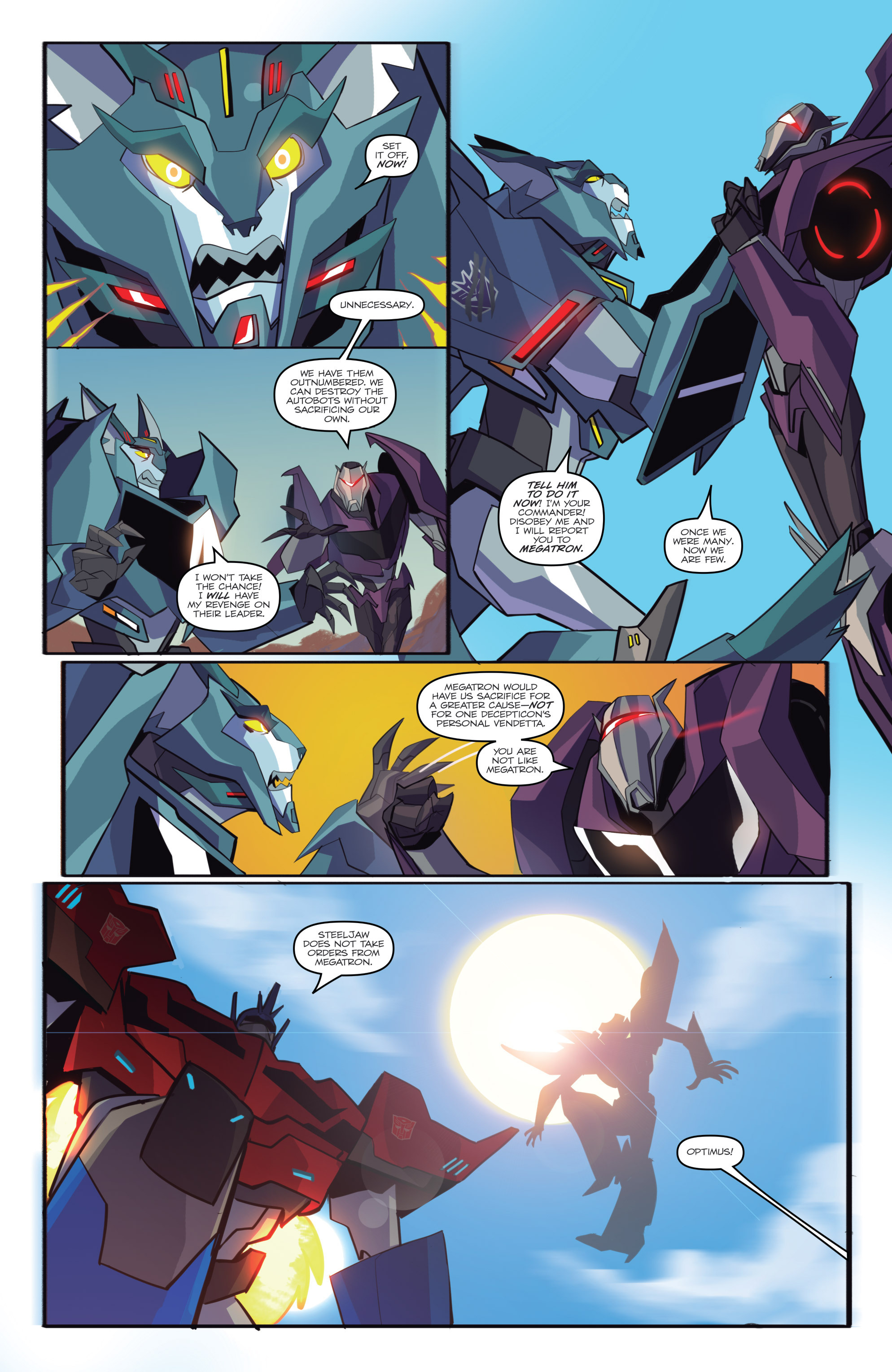 Read online Transformers: Robots In Disguise (2015) comic -  Issue #6 - 19