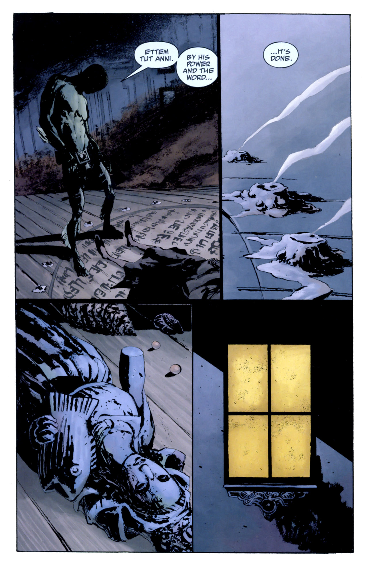 Read online Abe Sapien: The Drowning comic -  Issue #4 - 9