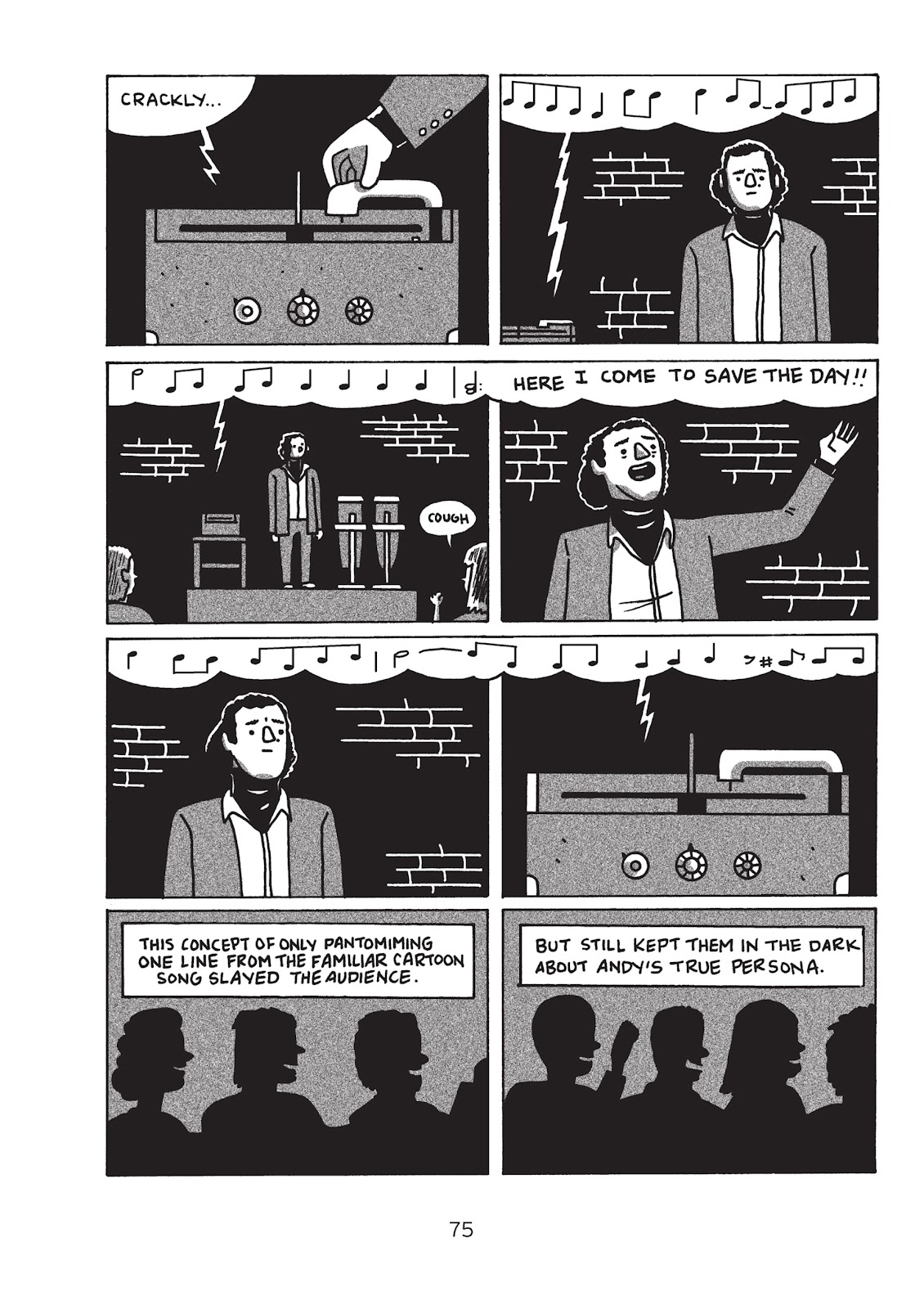 Read online Is This Guy For Real?: The Unbelievable Andy Kaufman comic -  Issue # TPB (Part 1) - 80