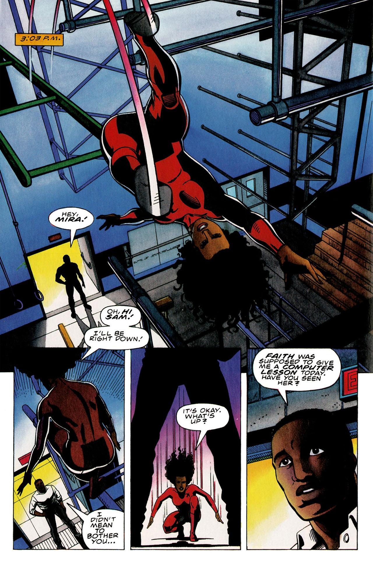 Read online Harbinger (1992) comic -  Issue #31 - 11
