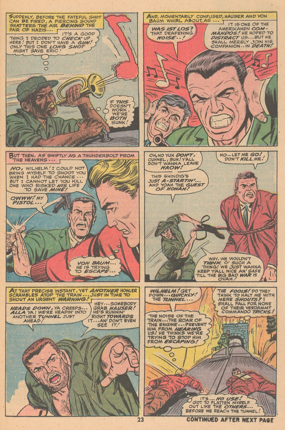 Read online Sgt. Fury comic -  Issue #105 - 25