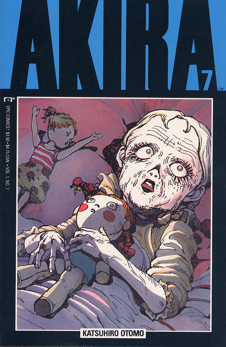 Read online Akira comic -  Issue #7 - 1