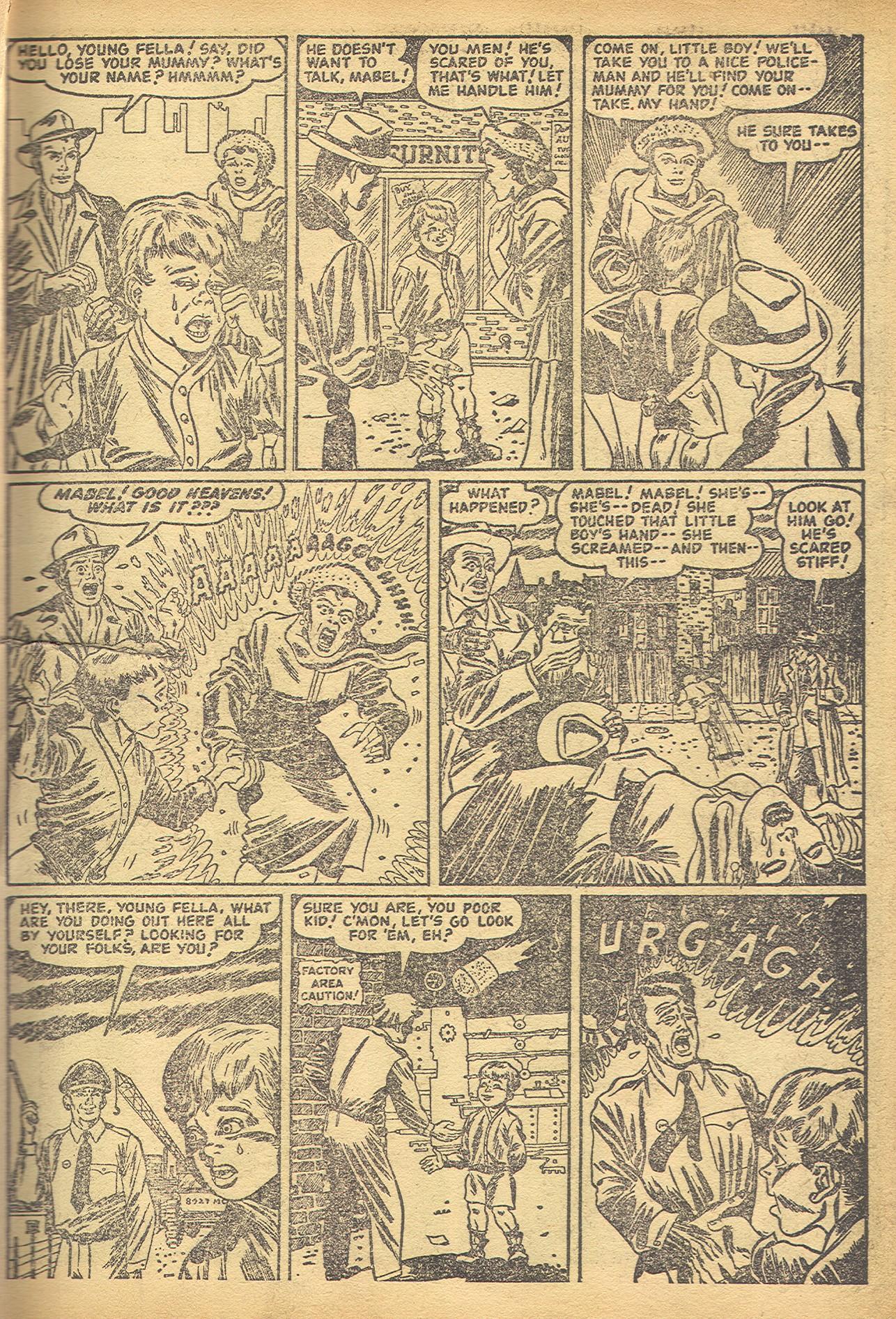 Read online Adventures into Weird Worlds comic -  Issue #8 - 13