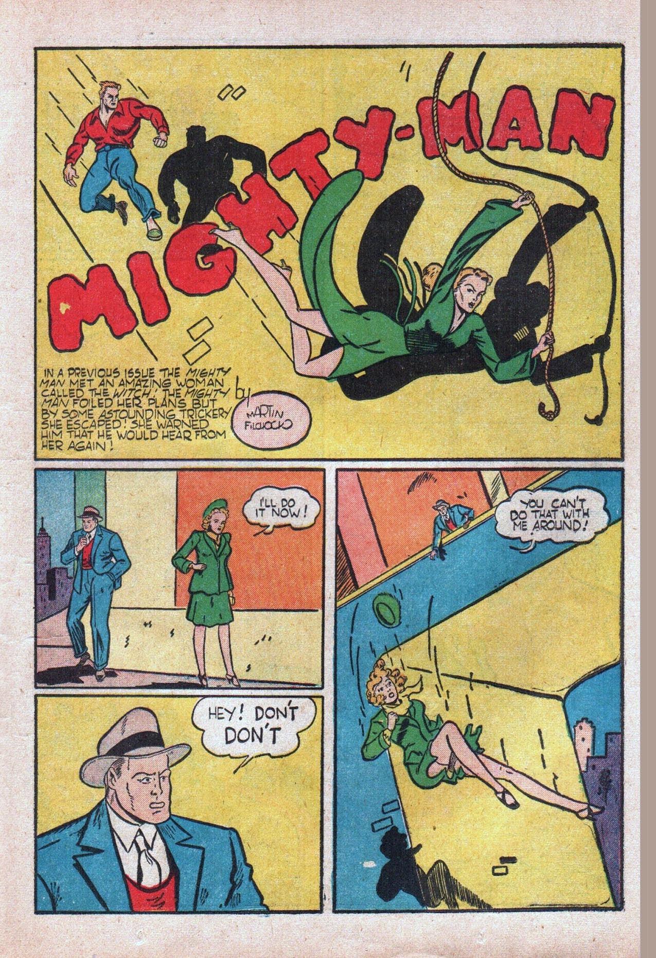 Read online Amazing Man Comics comic -  Issue #20 - 30