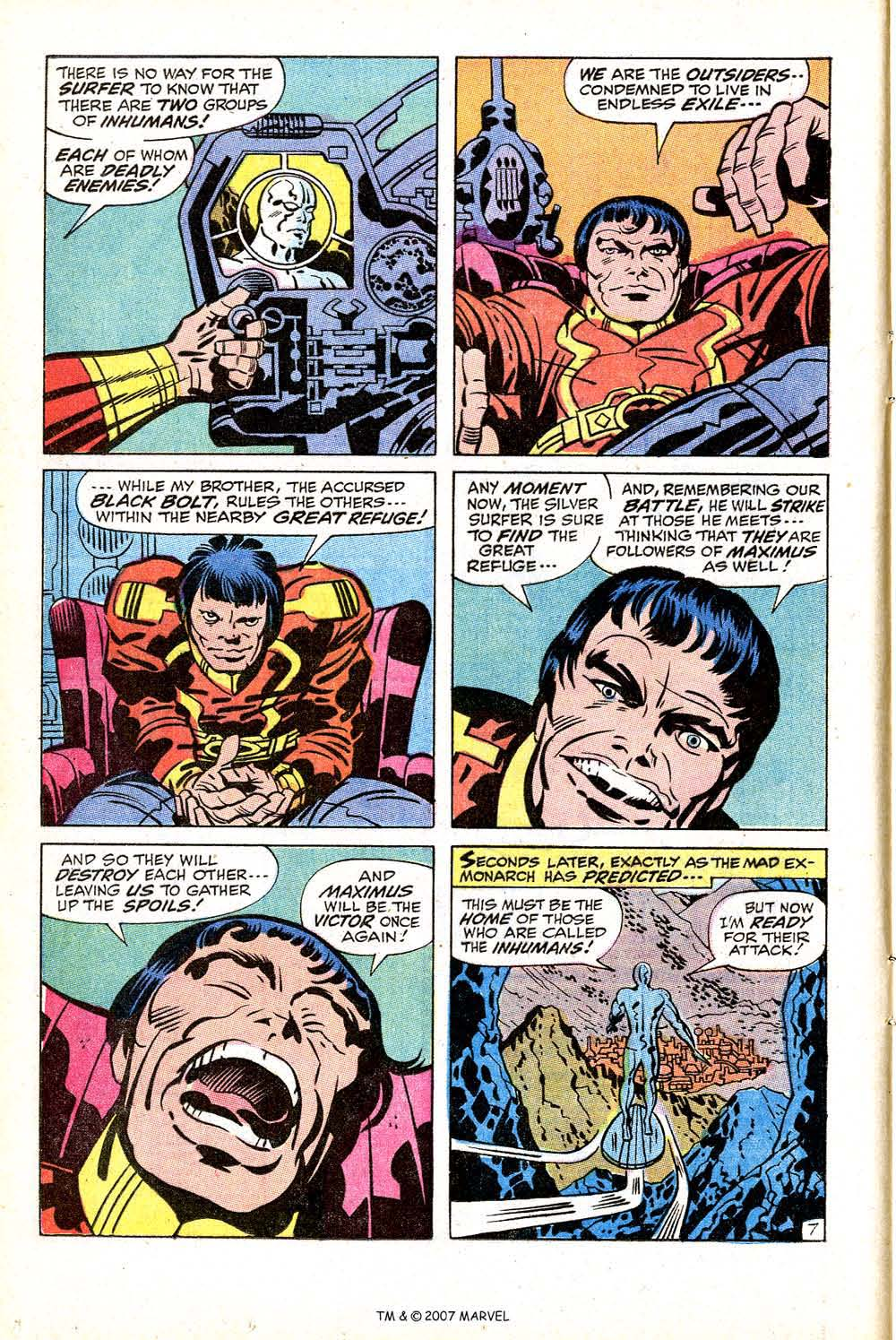 Silver Surfer (1968) issue 18 - Page 12