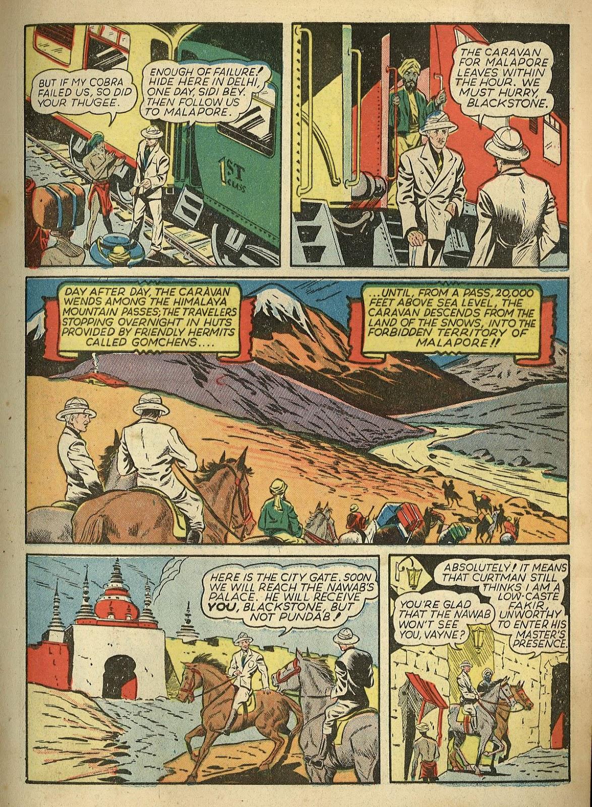Read online Super-Magician Comics comic -  Issue #1 - 13