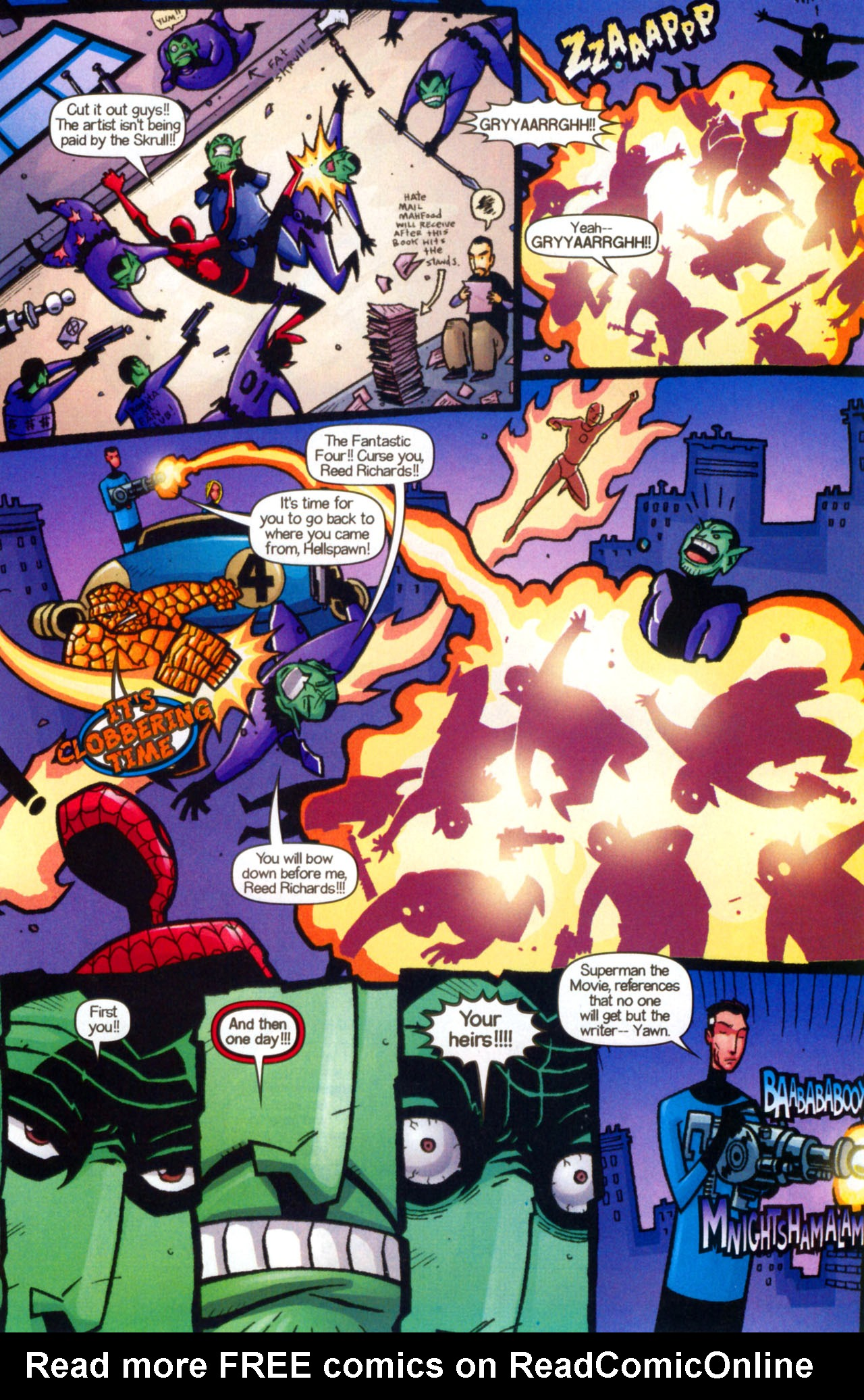Read online Ultimate Marvel Team-Up comic -  Issue #9 - 27