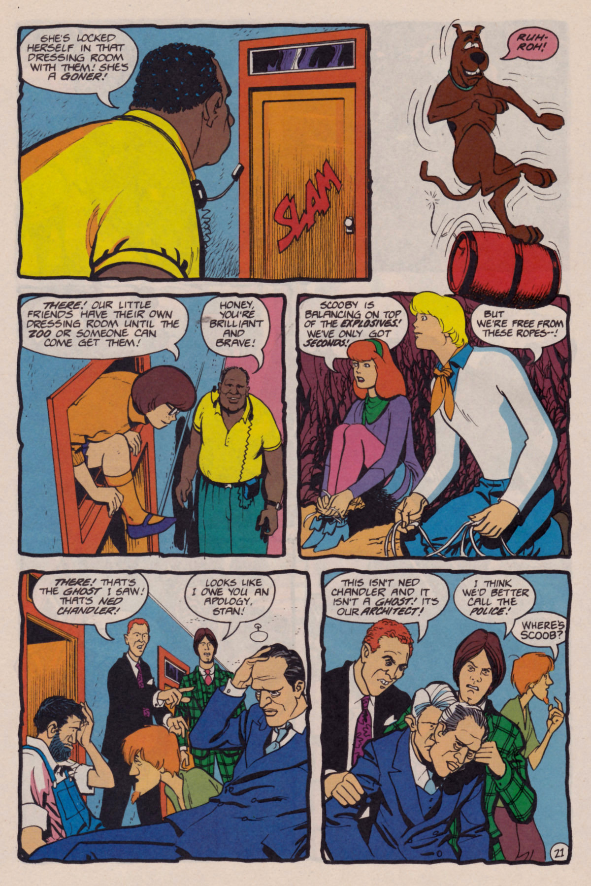Read online Scooby-Doo (1995) comic -  Issue #10 - 22